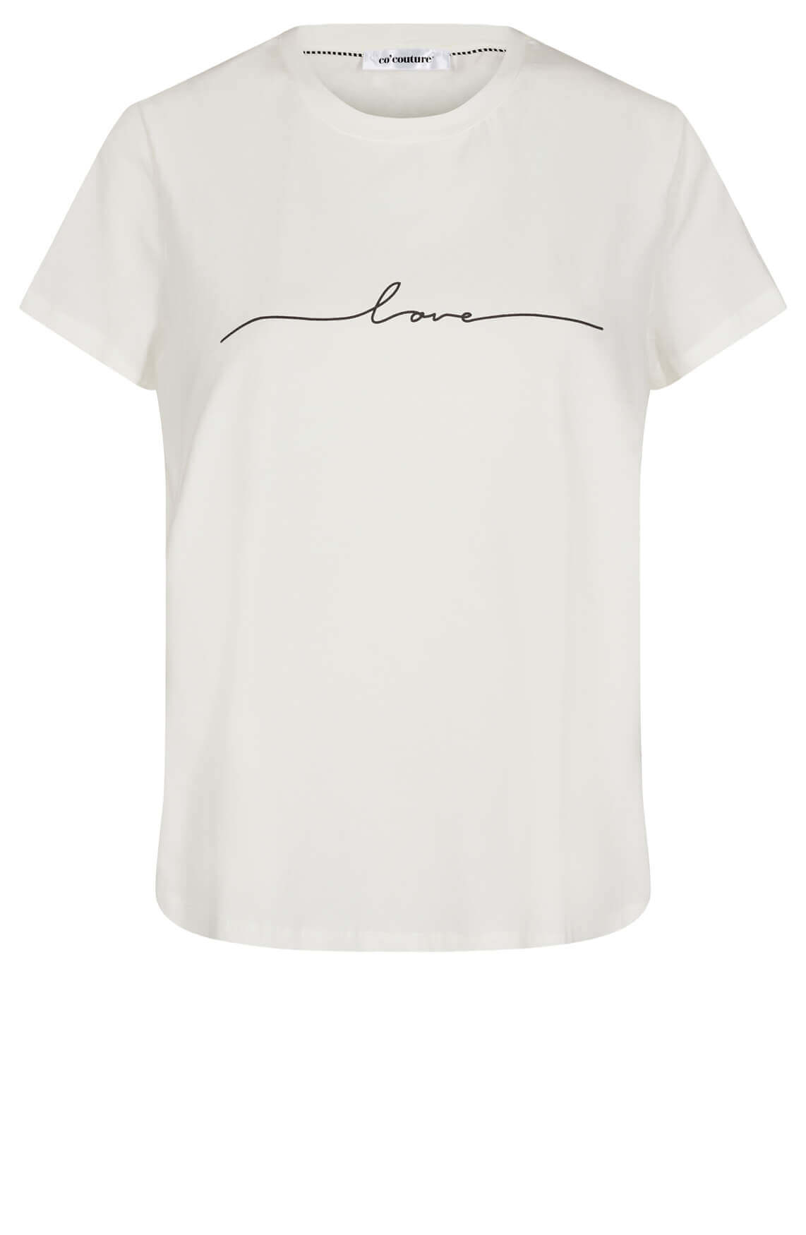 Co Couture Dames Naya love shirt wit