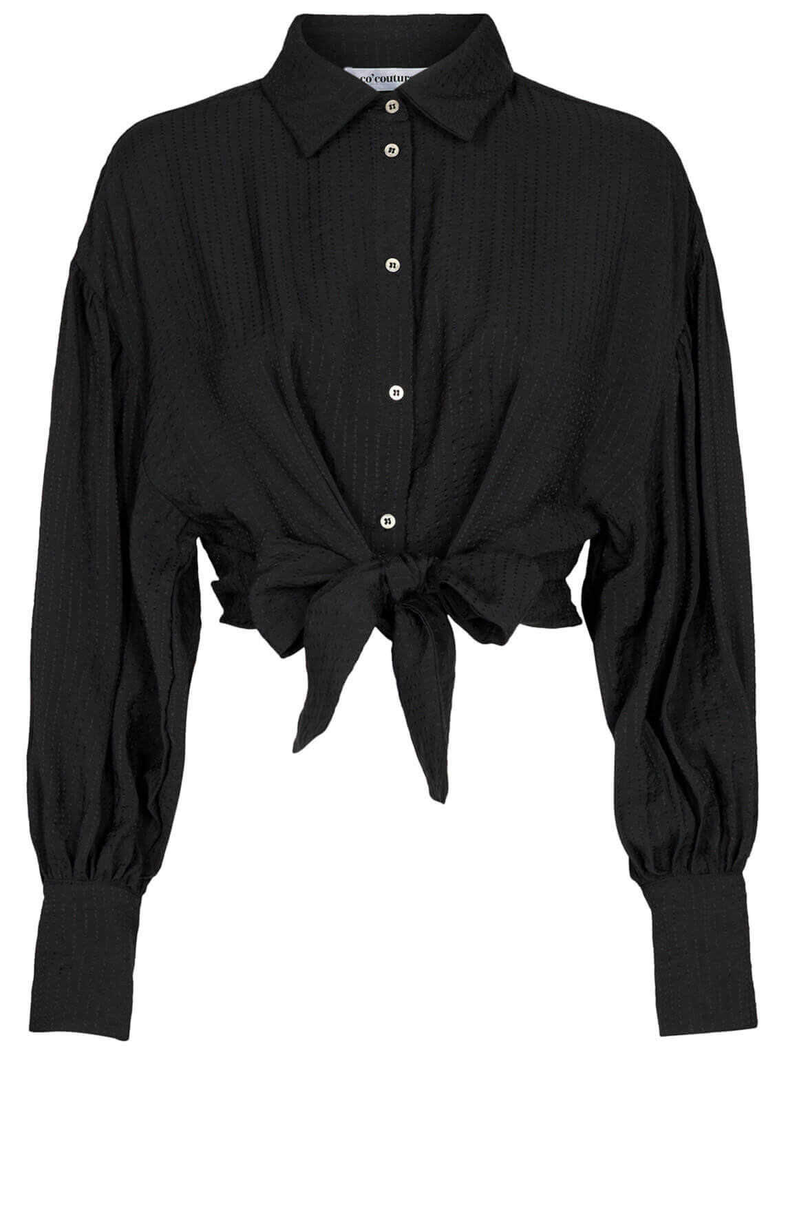 Co Couture Dames Remi blouse zwart