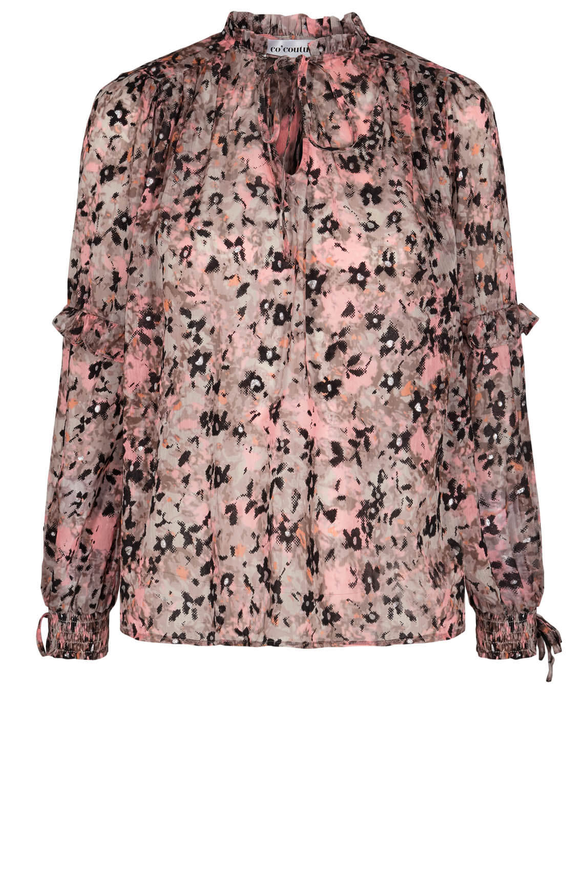 Co Couture Dames Gemma blouse Bruin