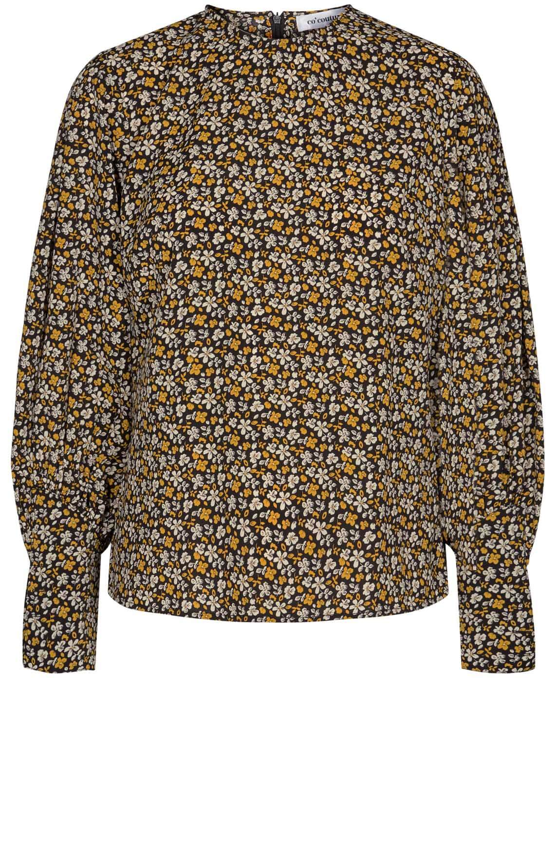 Co Couture Dames Alina blouse zwart