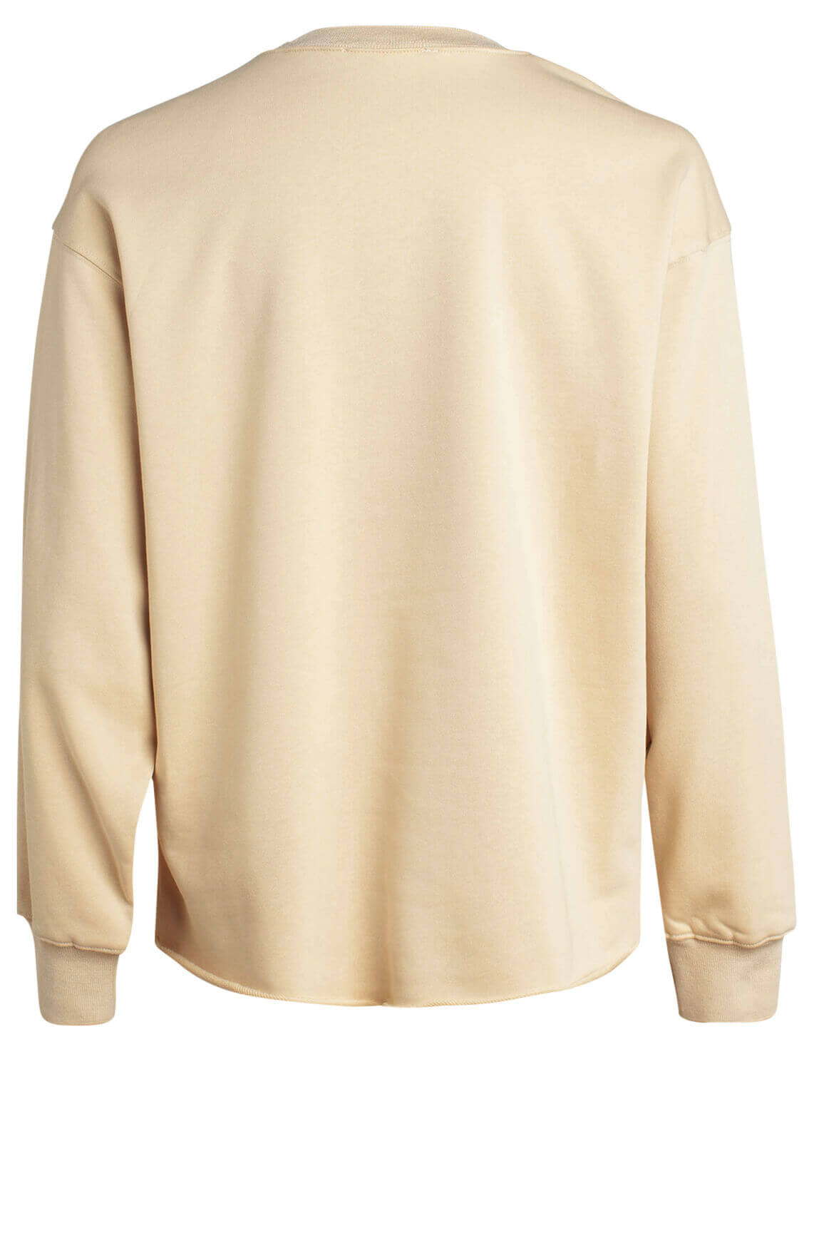 Co Couture Dames Reverse sweater geel