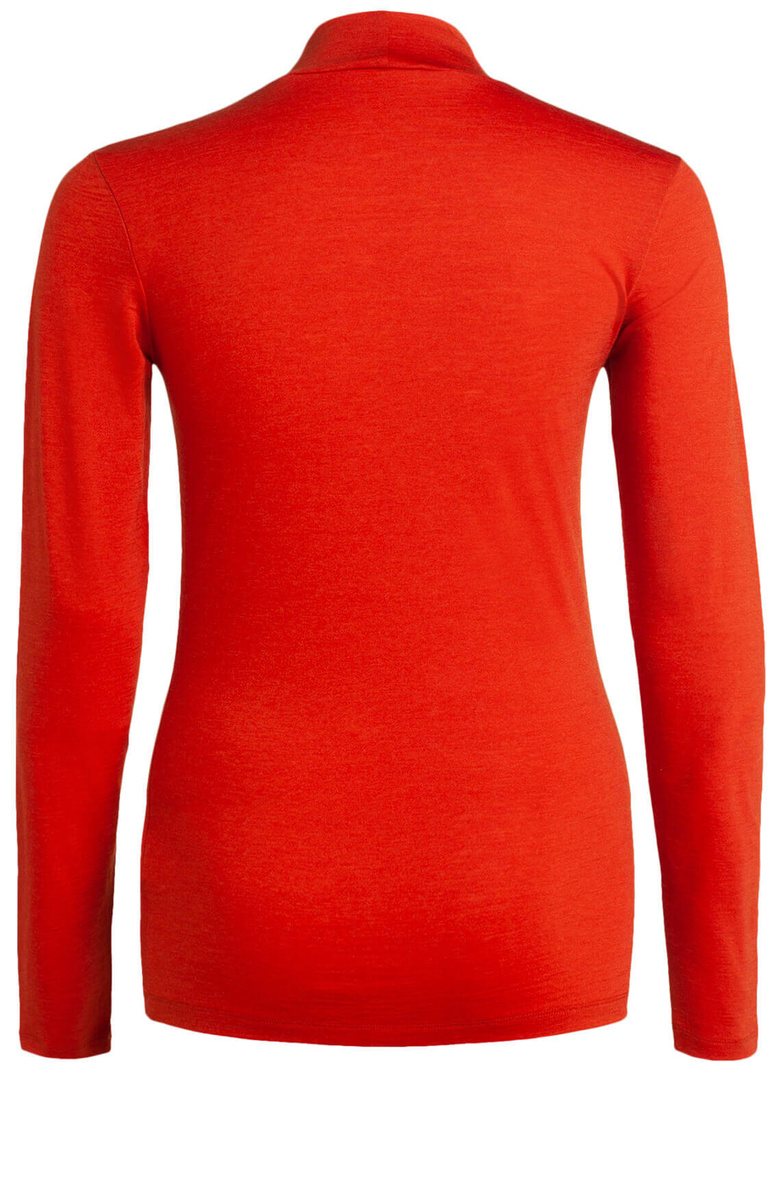 Drykorn Dames Klea stretch pullover met wol Rood