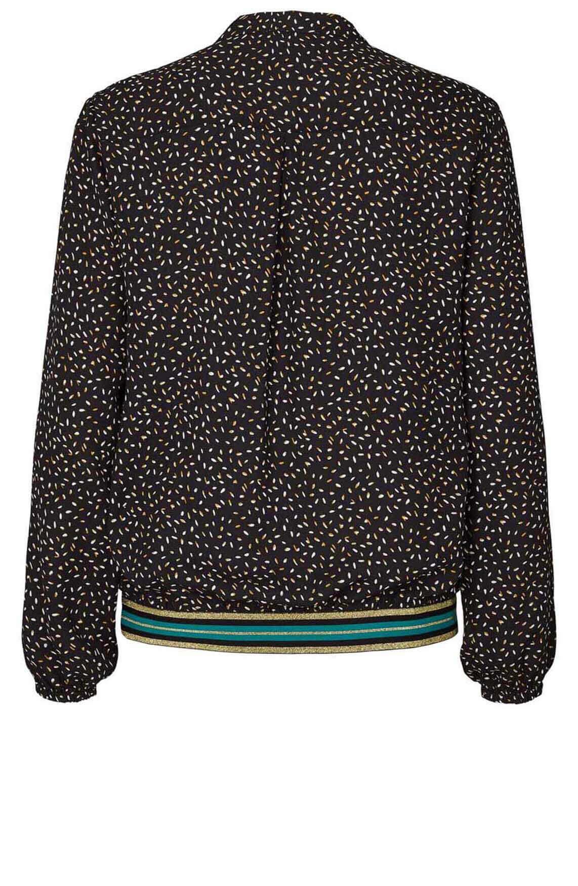 Lollys Laundry Dames Oline blouse zwart