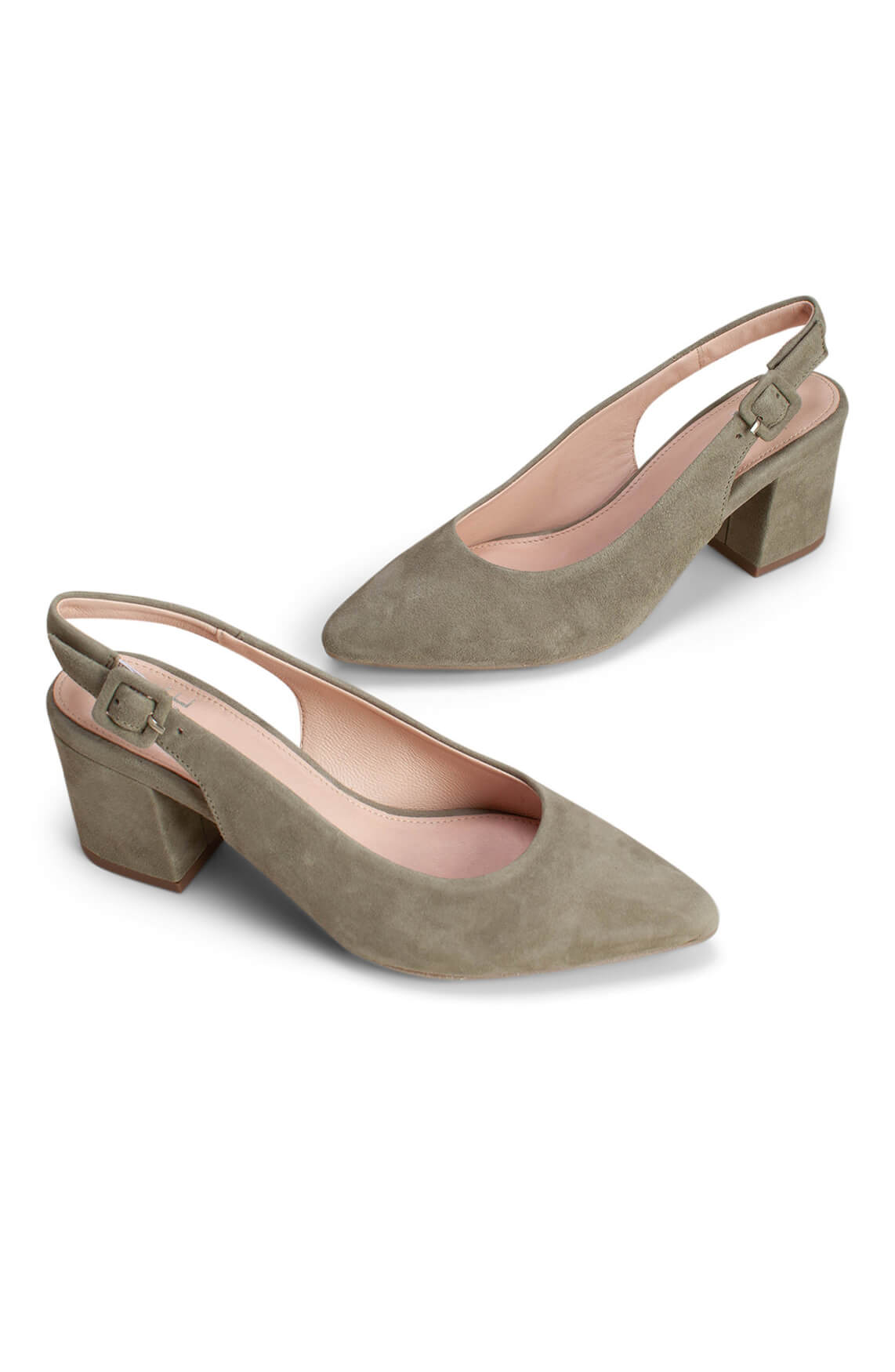 Noi Due Dames Slingback pump groen