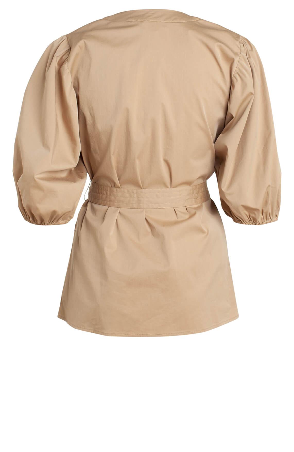 Co Couture Dames Pretoria shirt Bruin