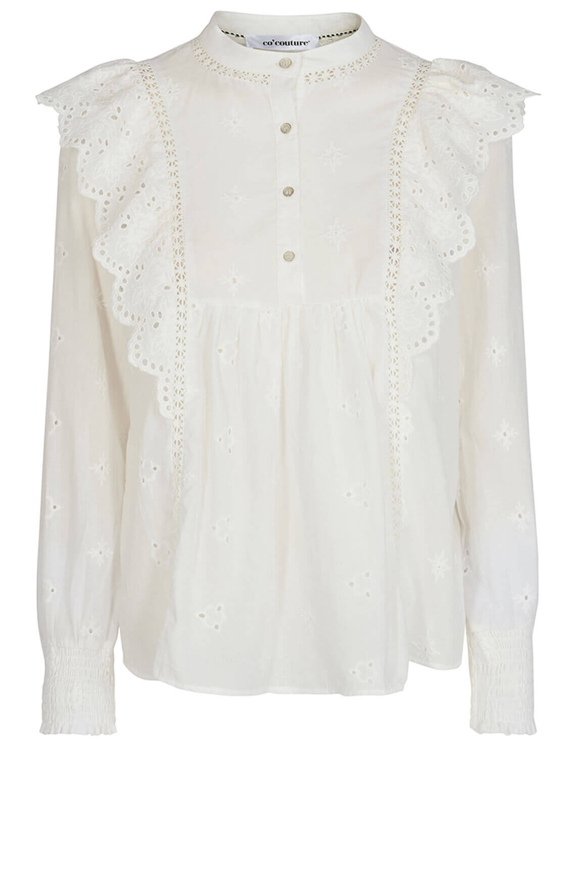 Co Couture Dames Izabel blouse wit