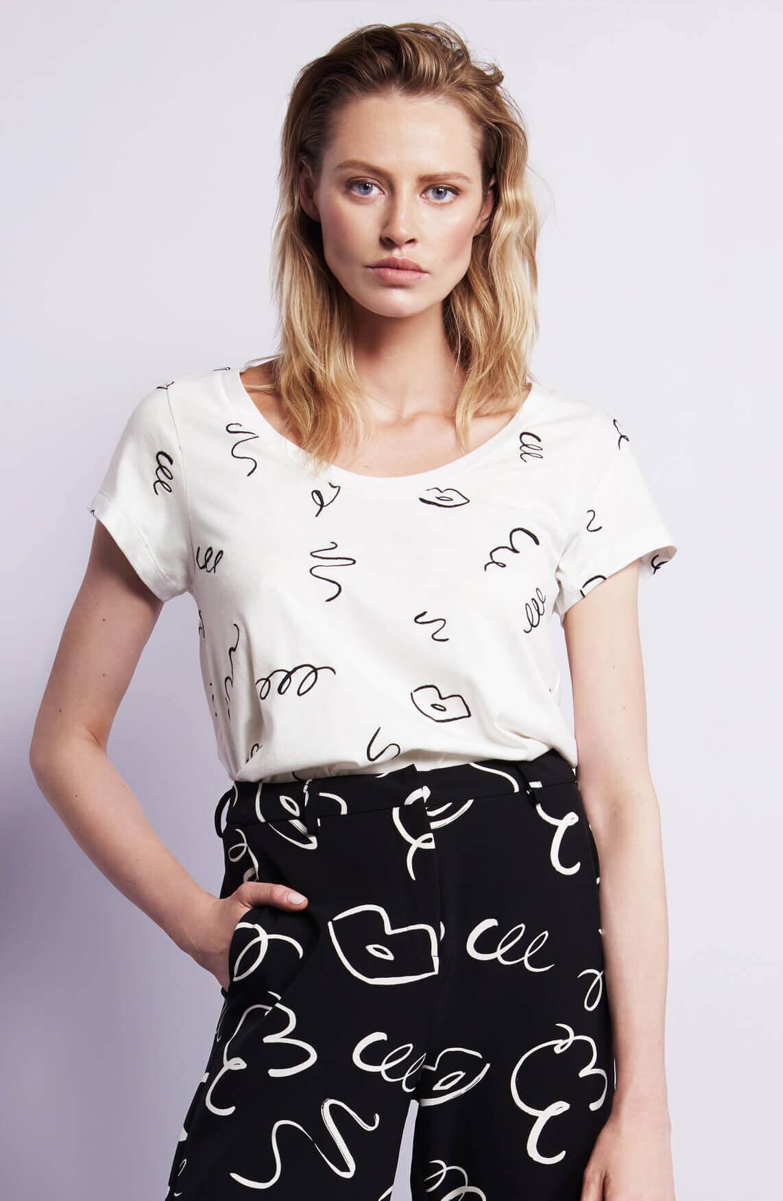 Fabienne Chapot Dames Kris shirt wit
