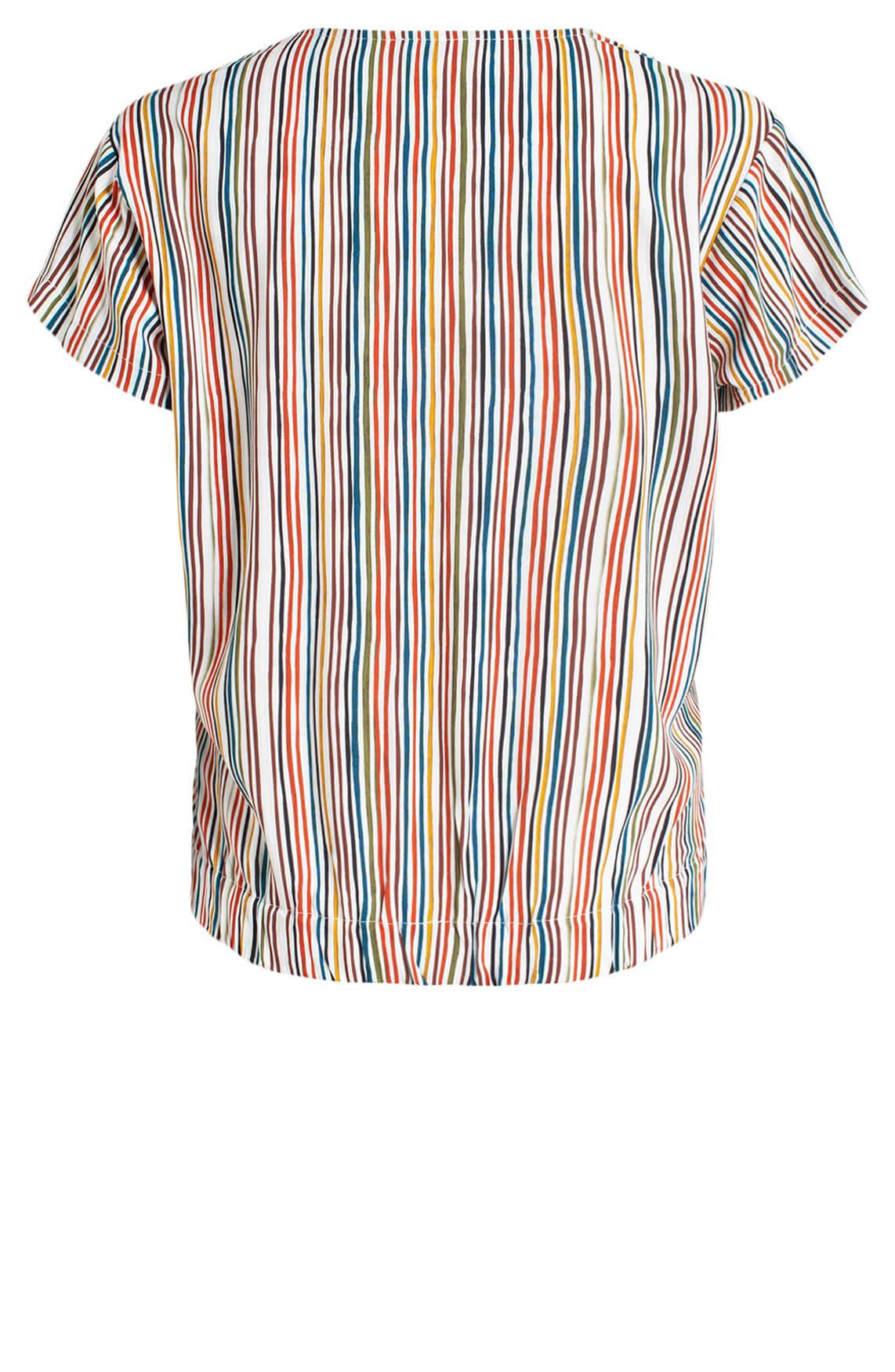 Anna Dames Gestreepte blouse MultiColor