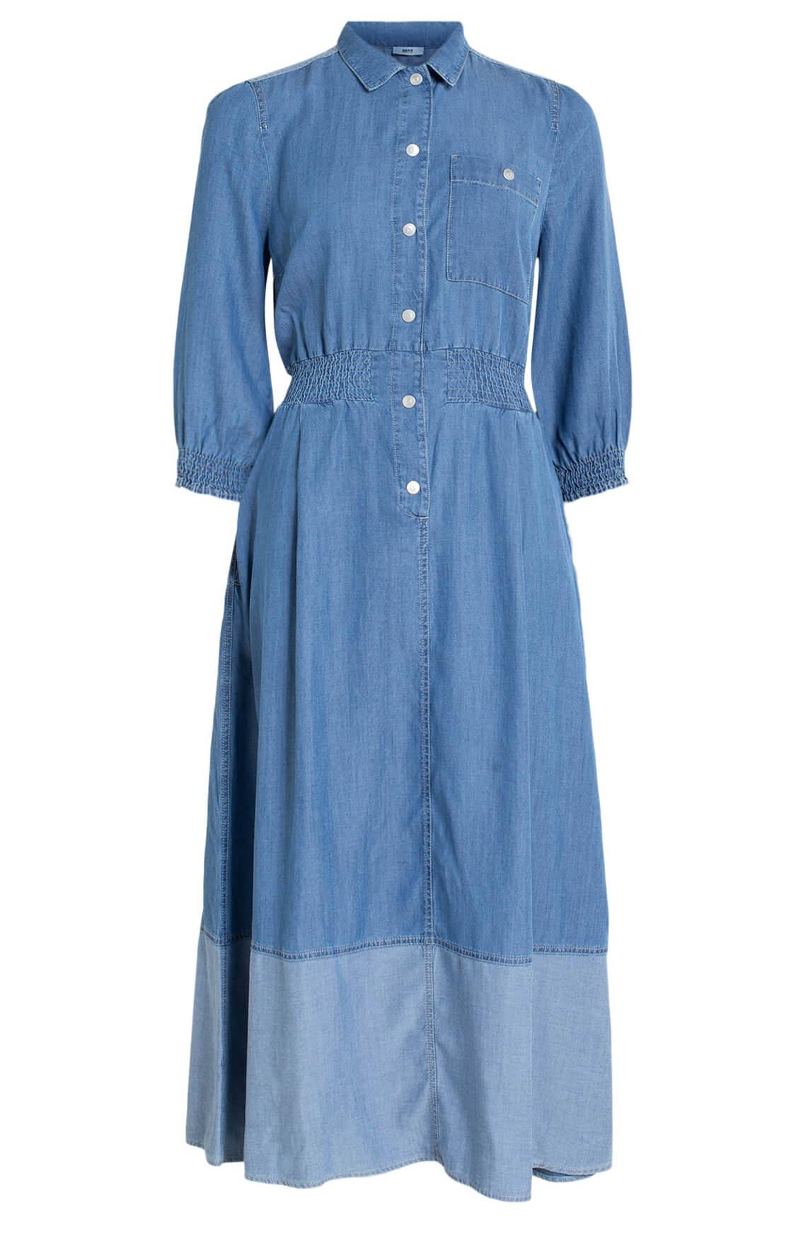 Anna Dames Denim jurk Blauw