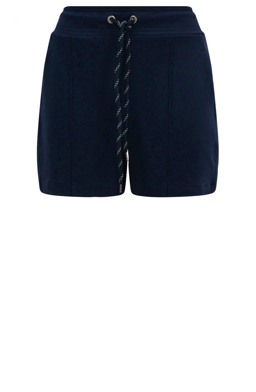 Anna Blue Dames Sweatshort Blauw