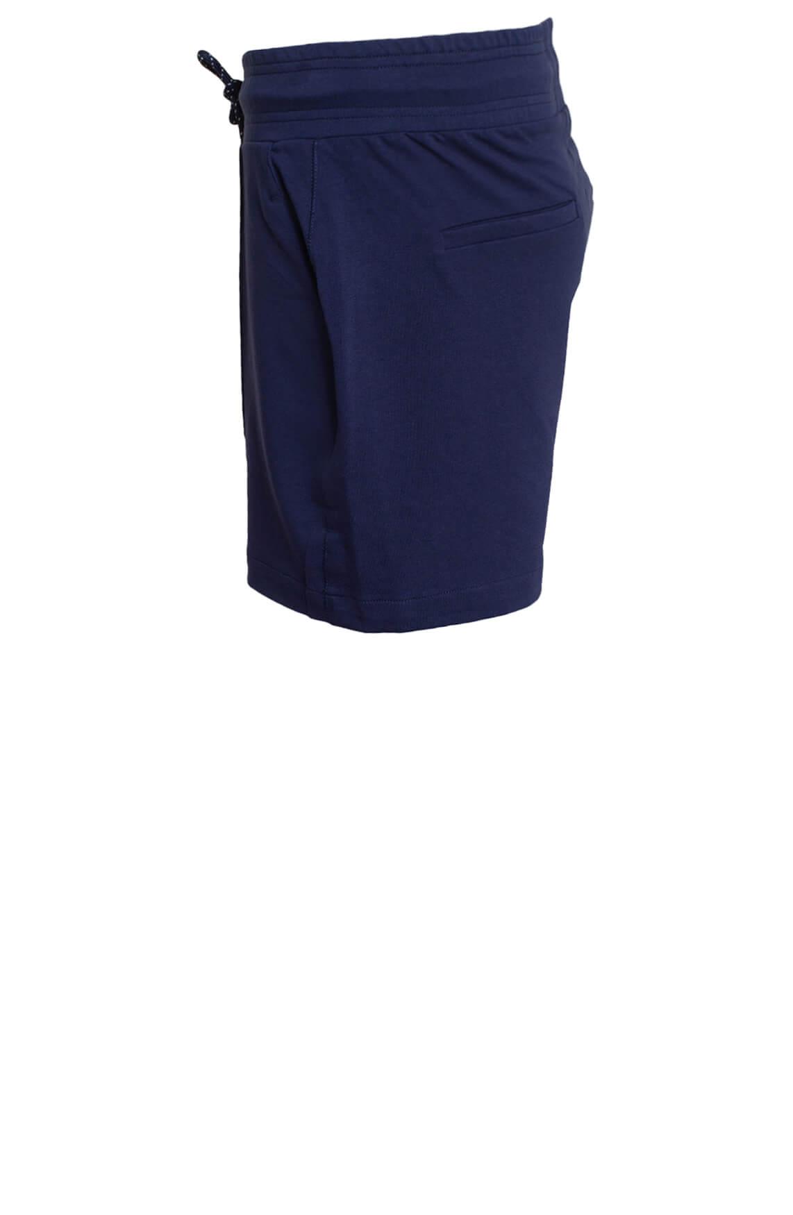 Anna Blue Dames Short met strikkoord Blauw