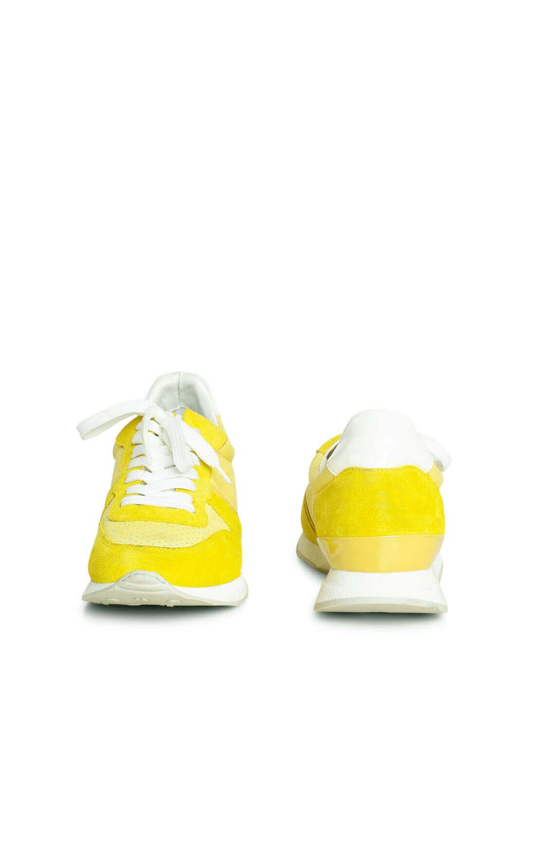 Hip Dames Suède sneaker geel