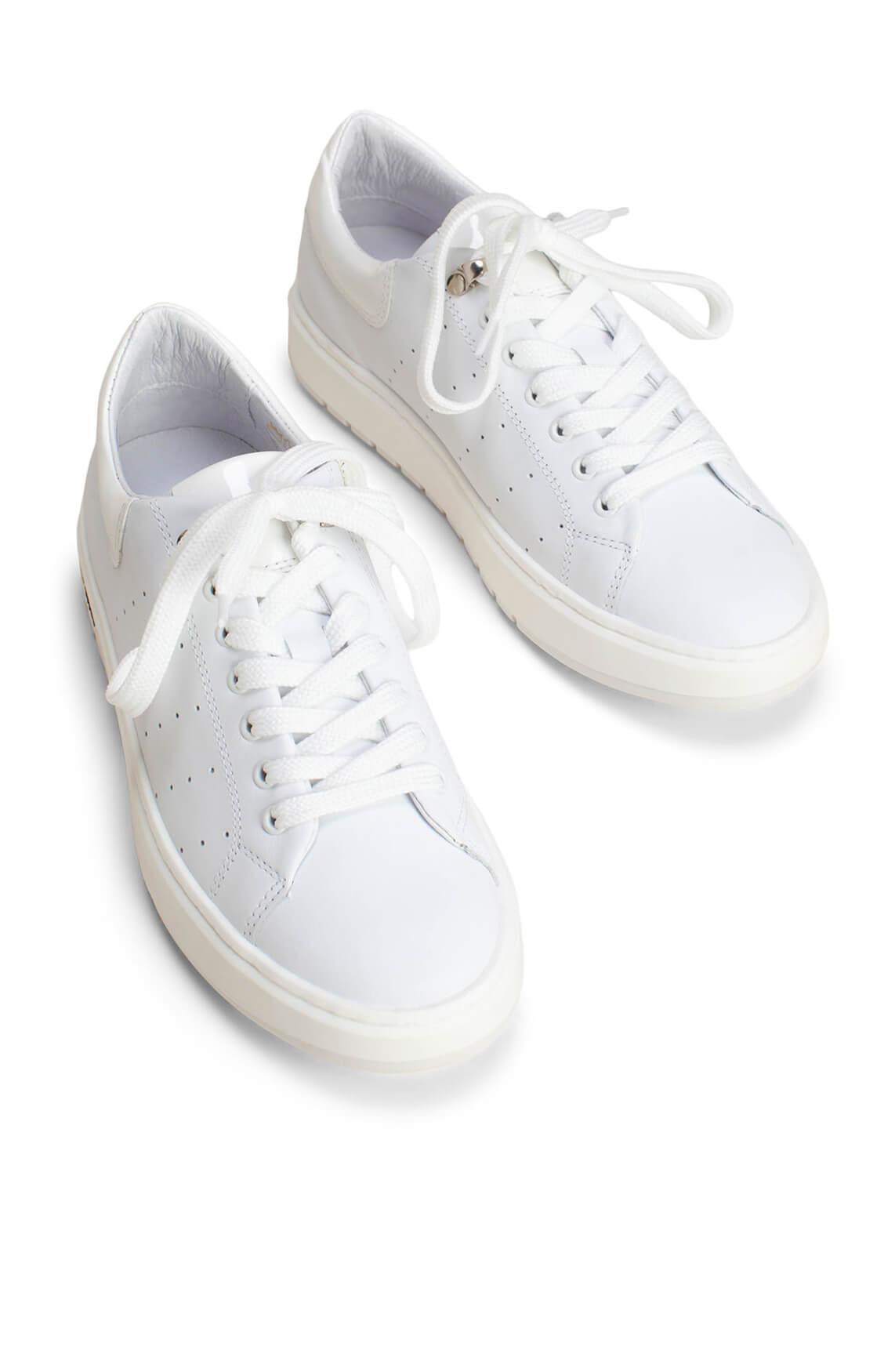 Hip Dames Sneaker met zilveren detail wit