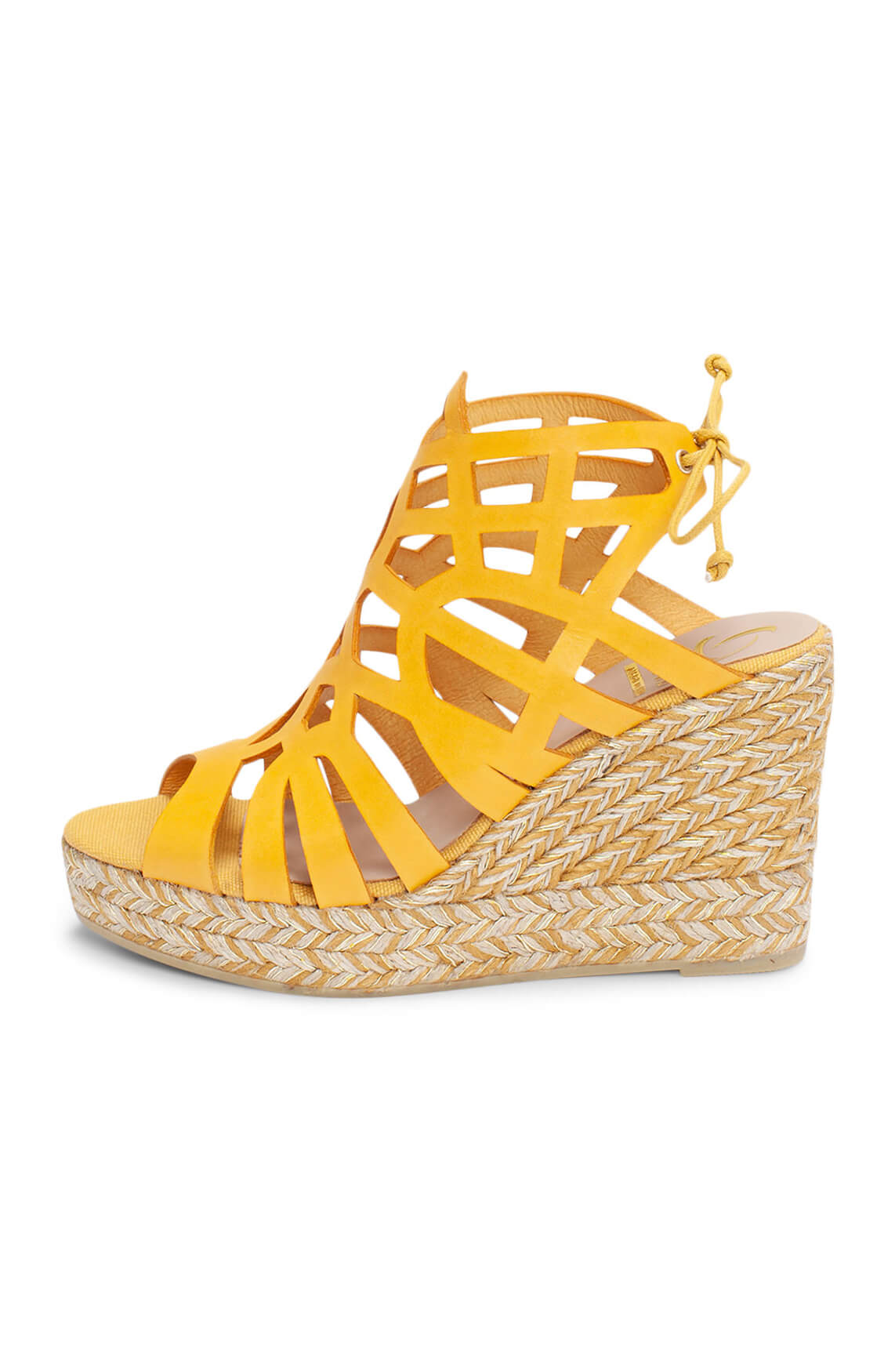 Kanna Dames Sleehak geel