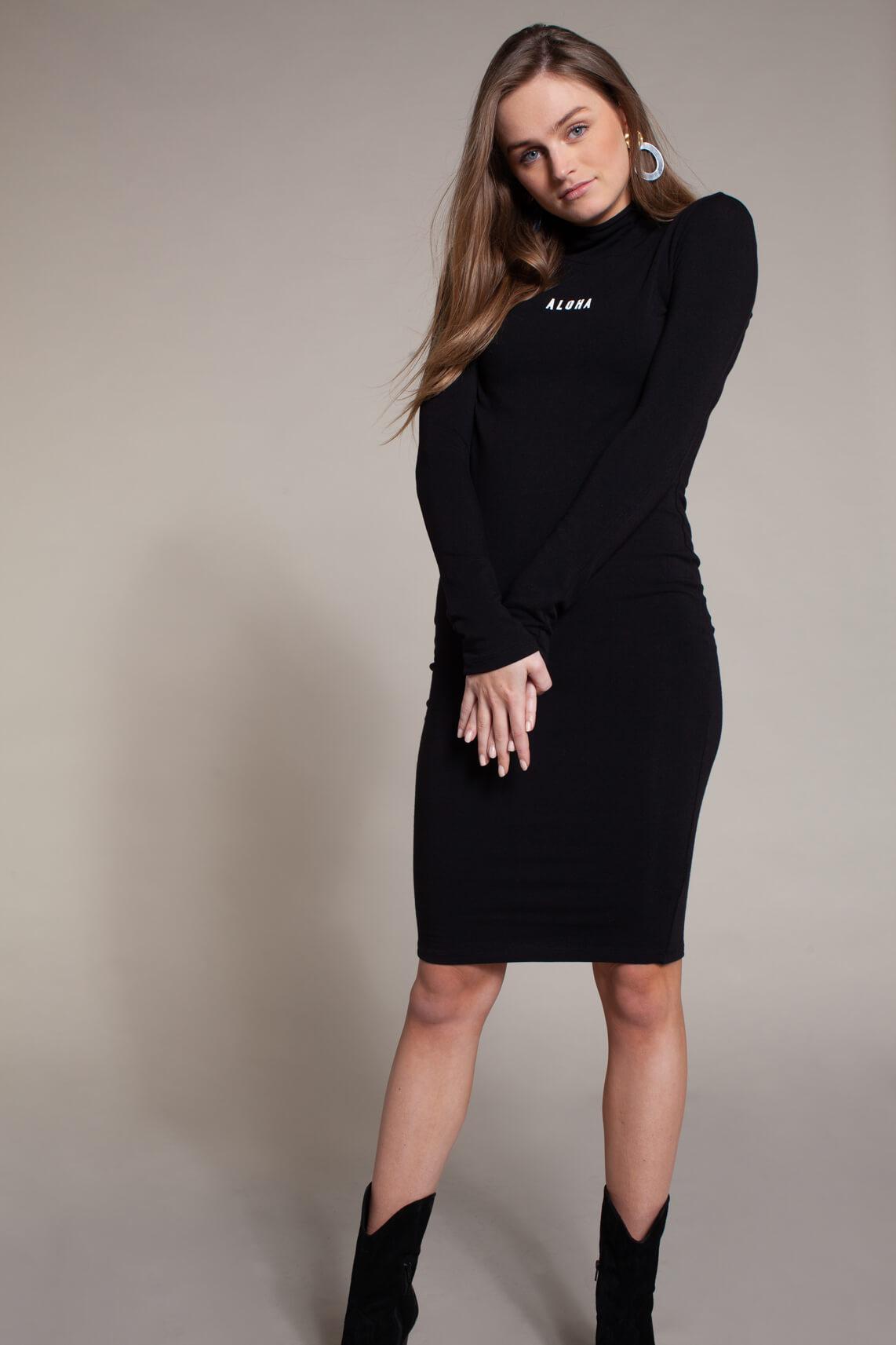 10 Days Dames Midi jurk zwart