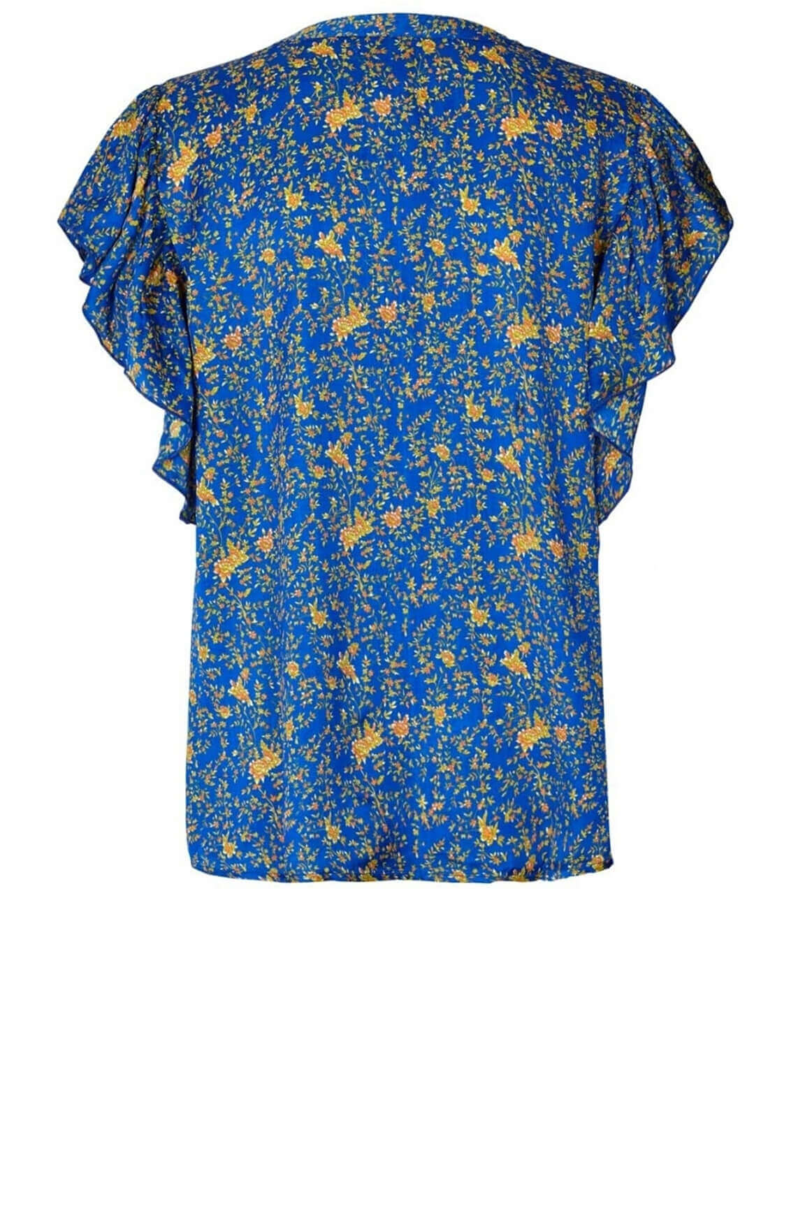 Lollys Laundry Dames Isabel blouse Blauw