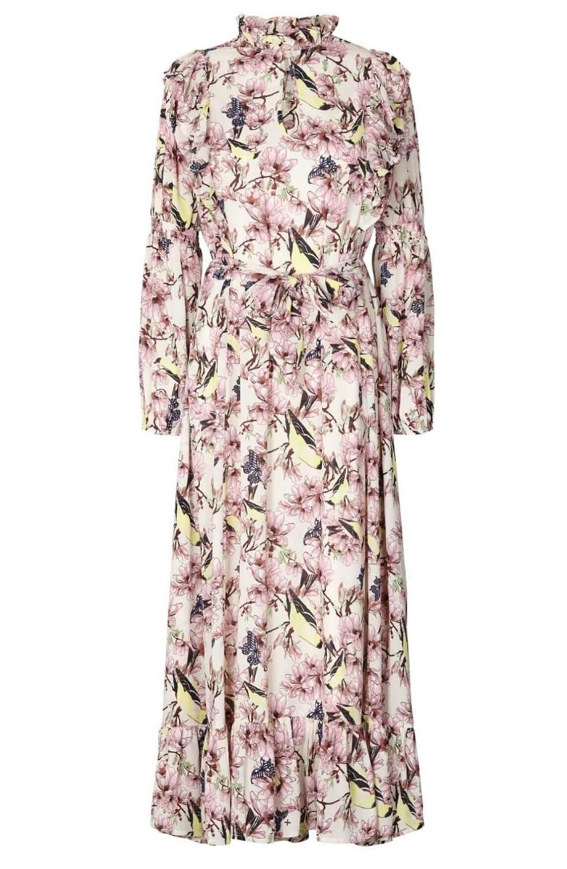 Lollys Laundry Dames Sanni jurk Ecru