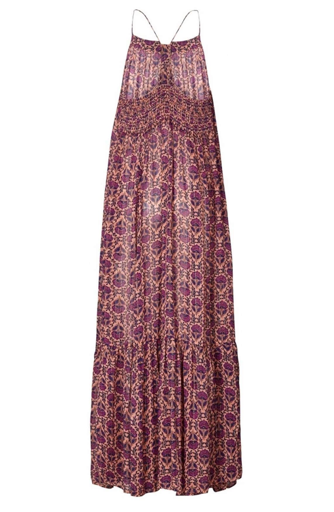 Lollys Laundry Dames Merian jurk roze