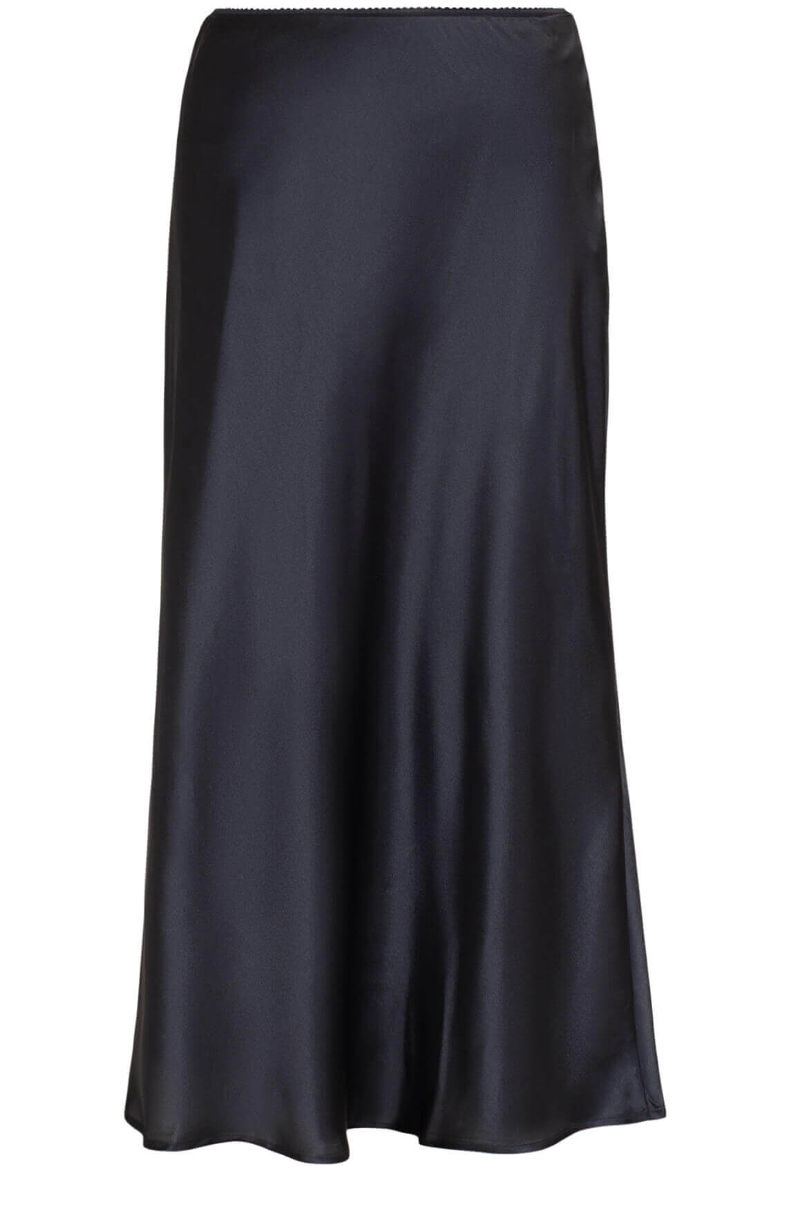 Object Dames Alina midi rok zwart