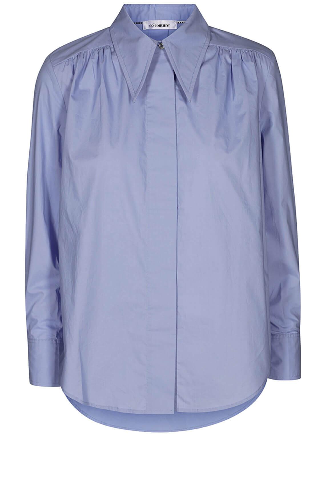 Co Couture Dames Coriolis blouse Blauw