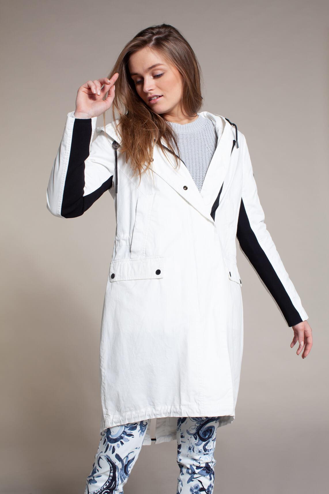 Reset Dames Cobie jas met coating wit