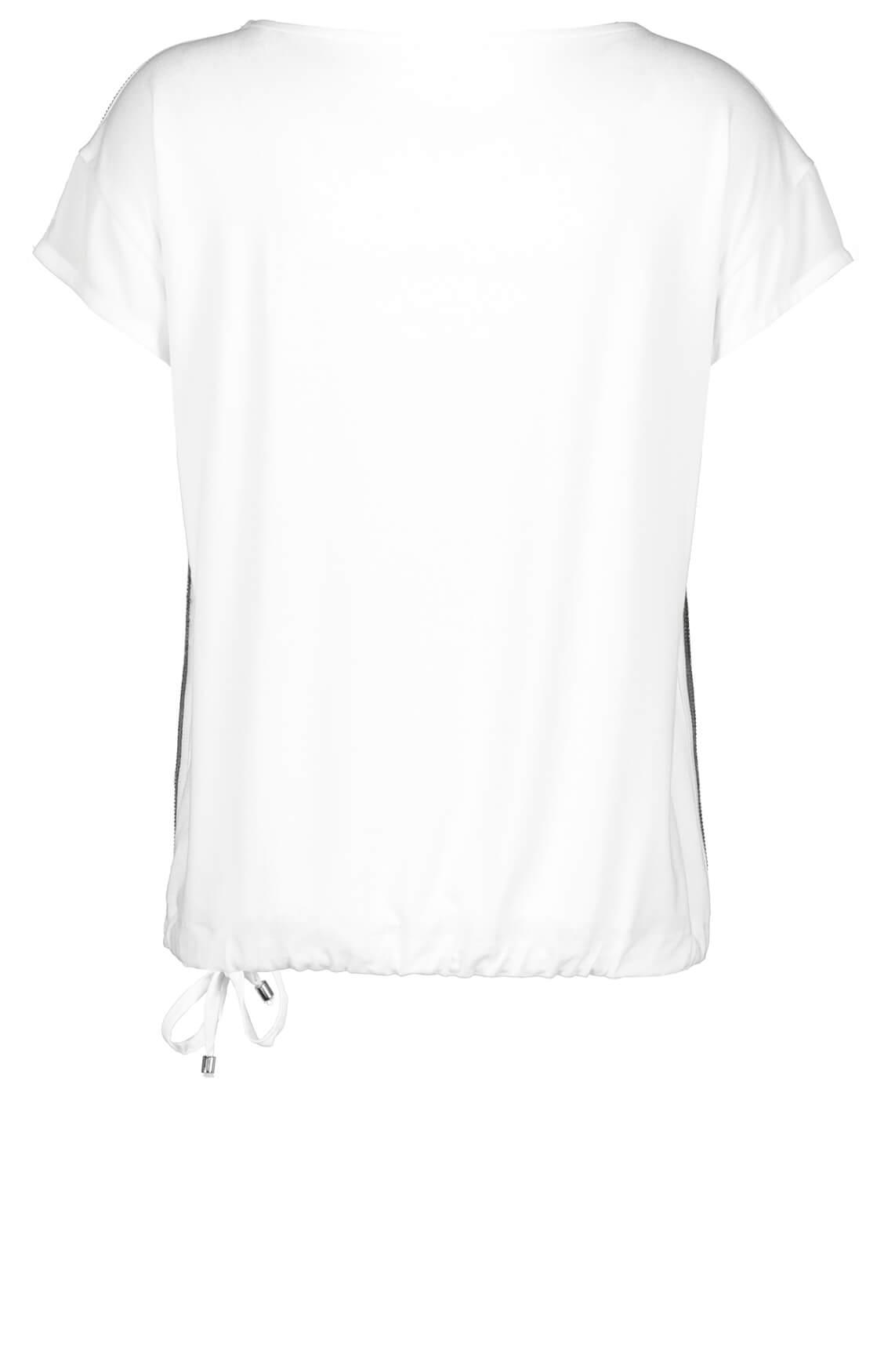Monari Dames Shirt met bies wit