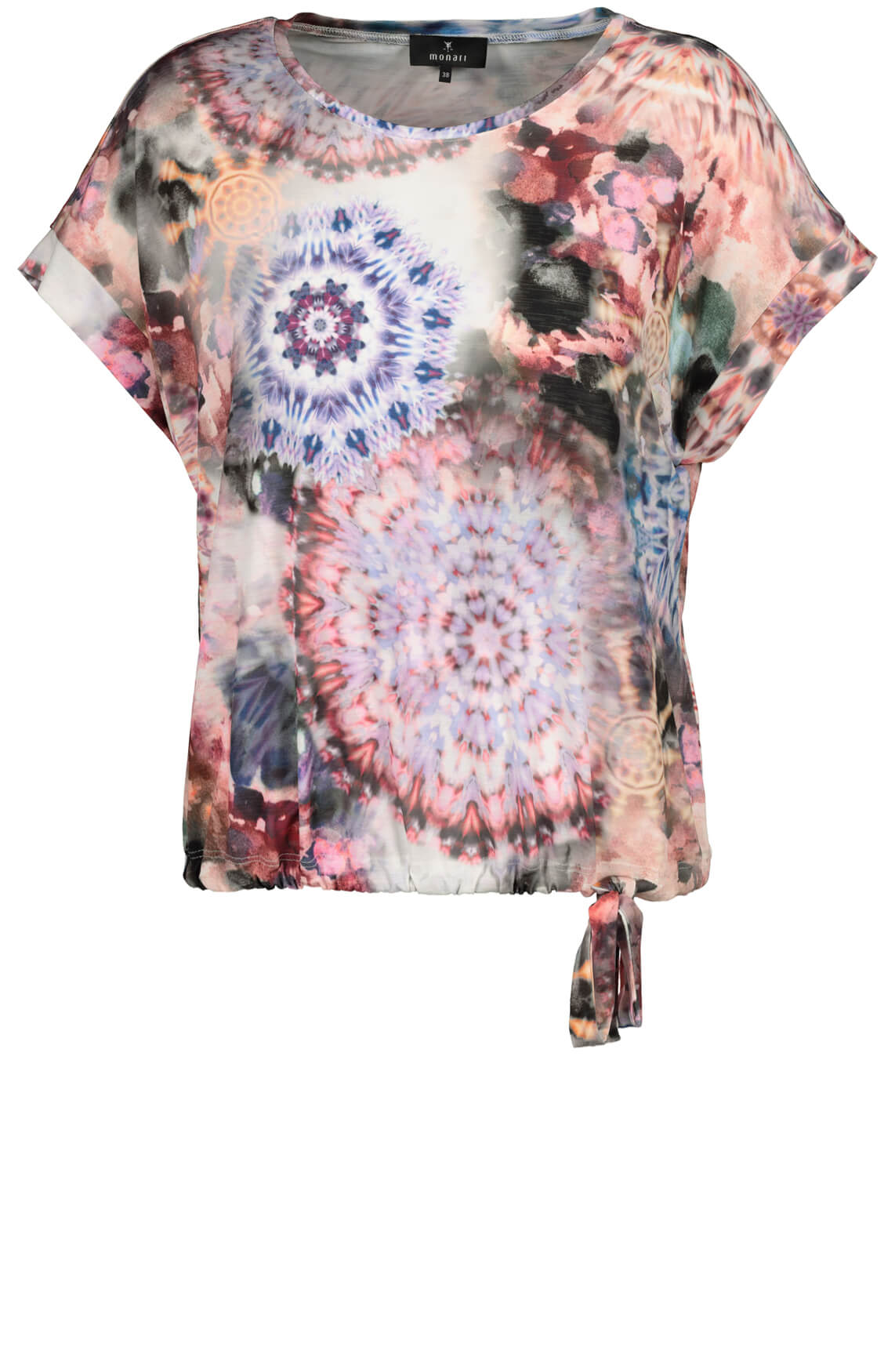 Monari Dames Tie dye shirt Paars