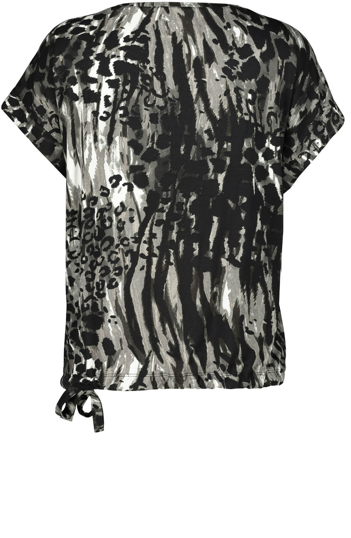 Monari Dames Animalprint shirt Grijs