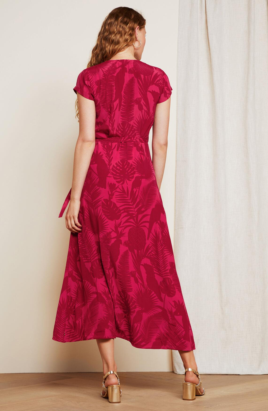 Fabienne Chapot Dames Archana overslagjurk roze