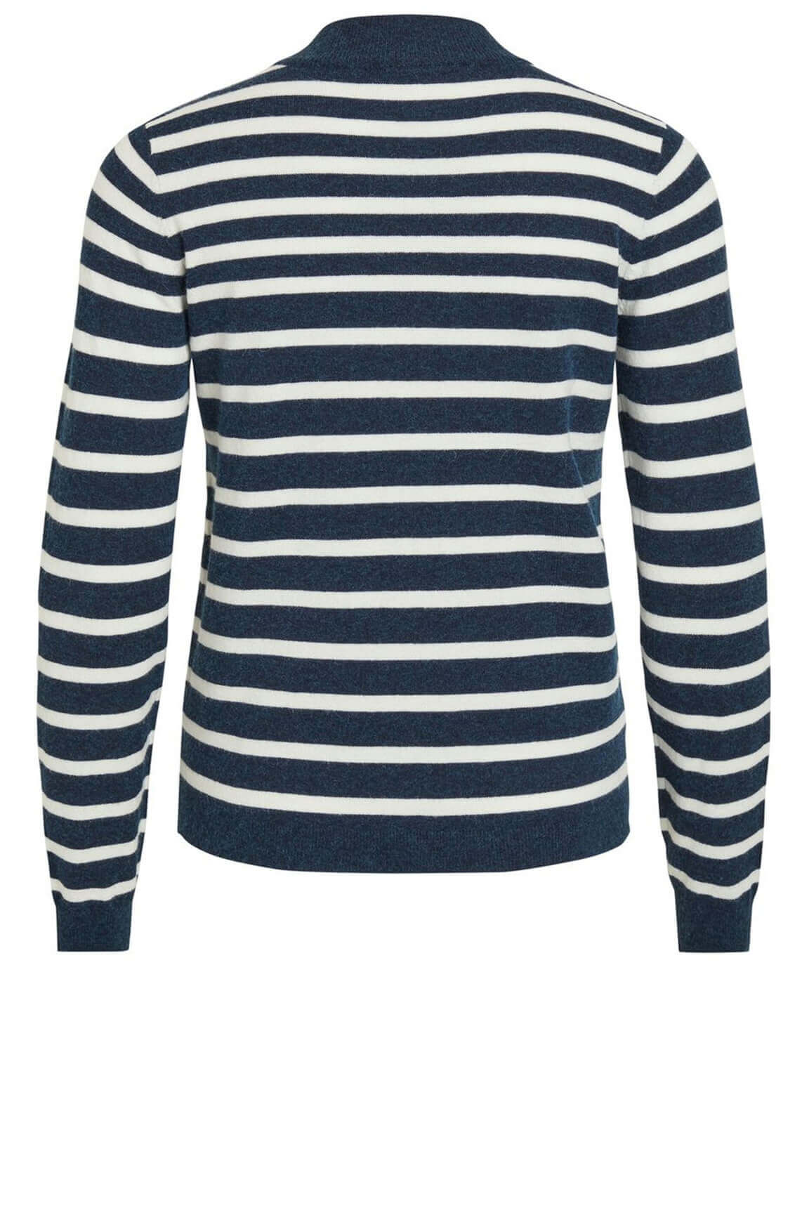 Object Dames Thess gestreepte pullover Blauw