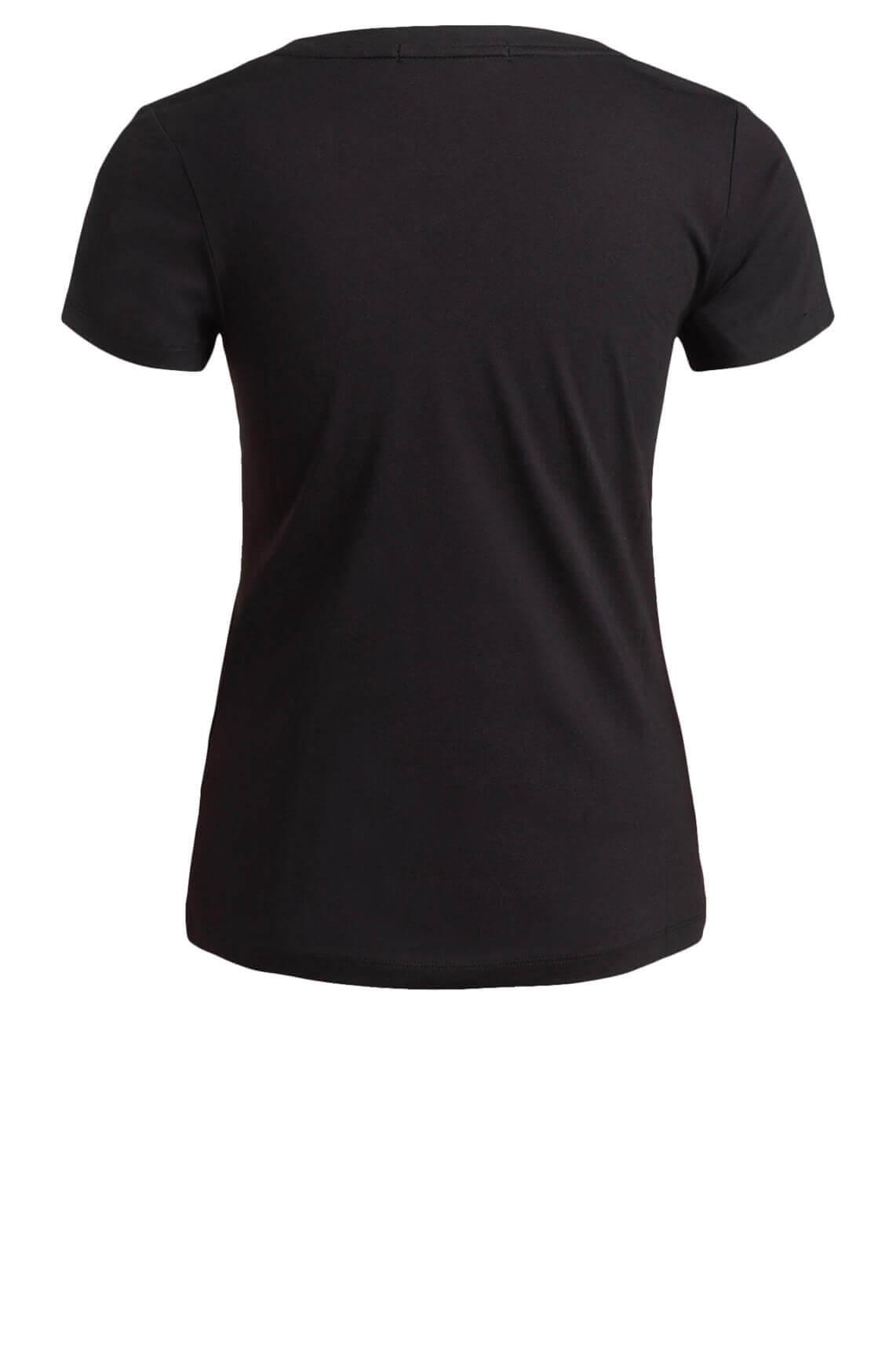 Calvin Klein Dames CK Shirt zwart
