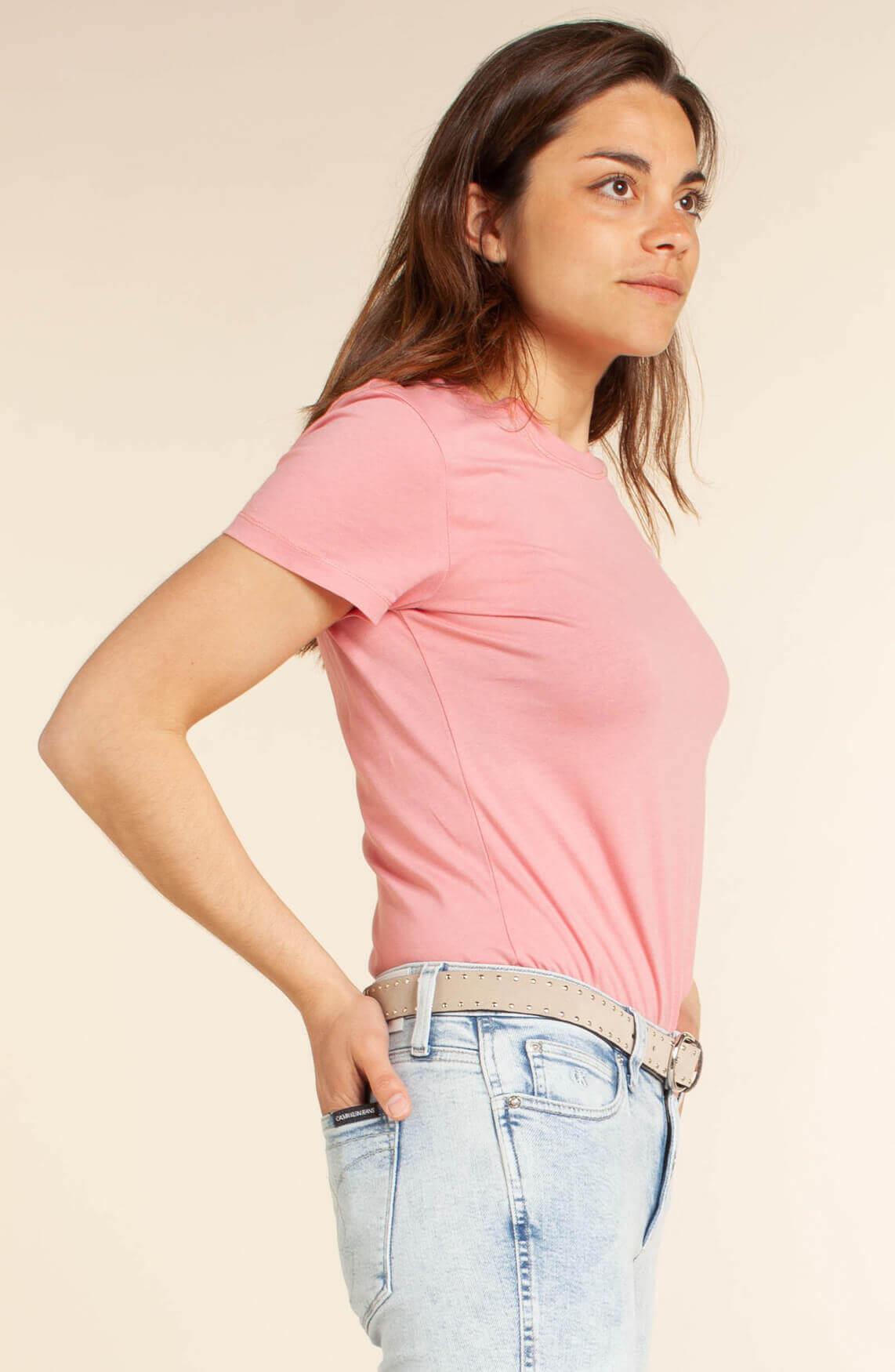 Calvin Klein Dames CK Shirt roze