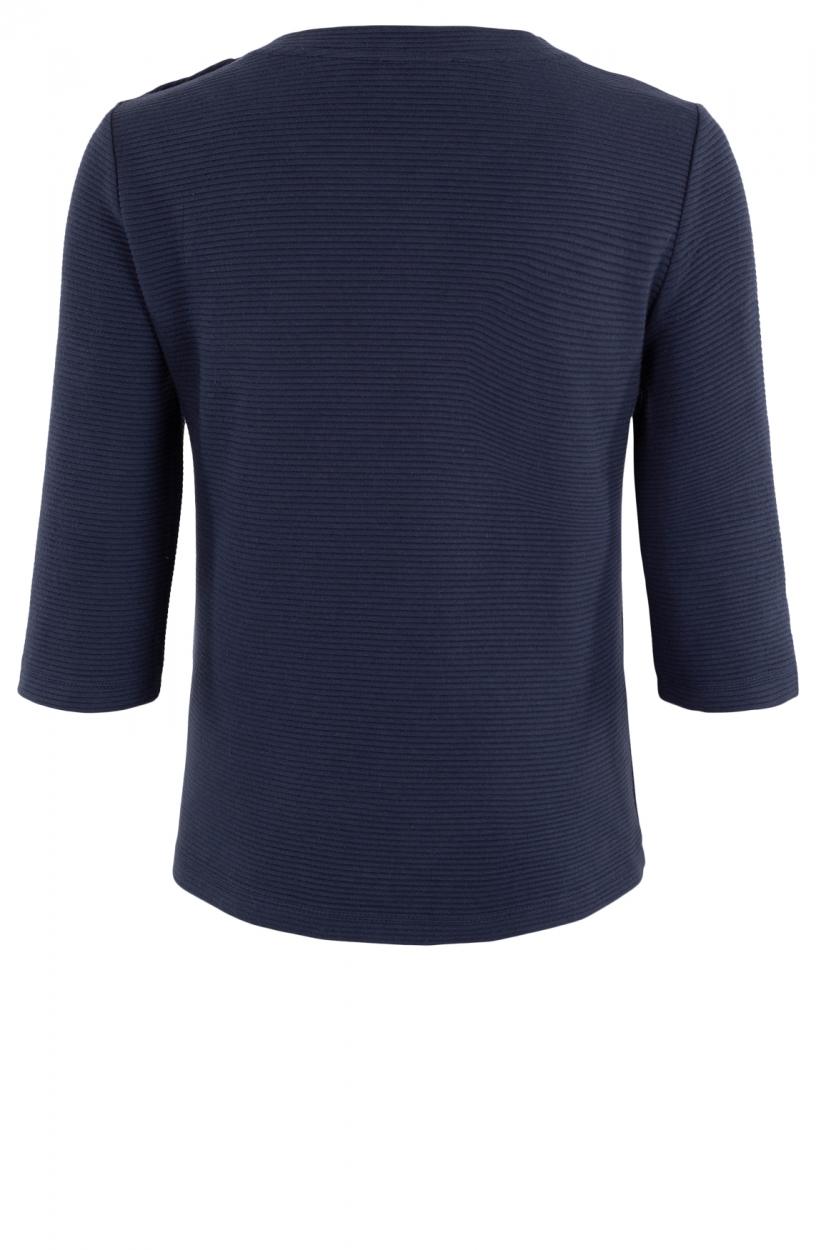 Anna Dames Sweater met knopen Blauw