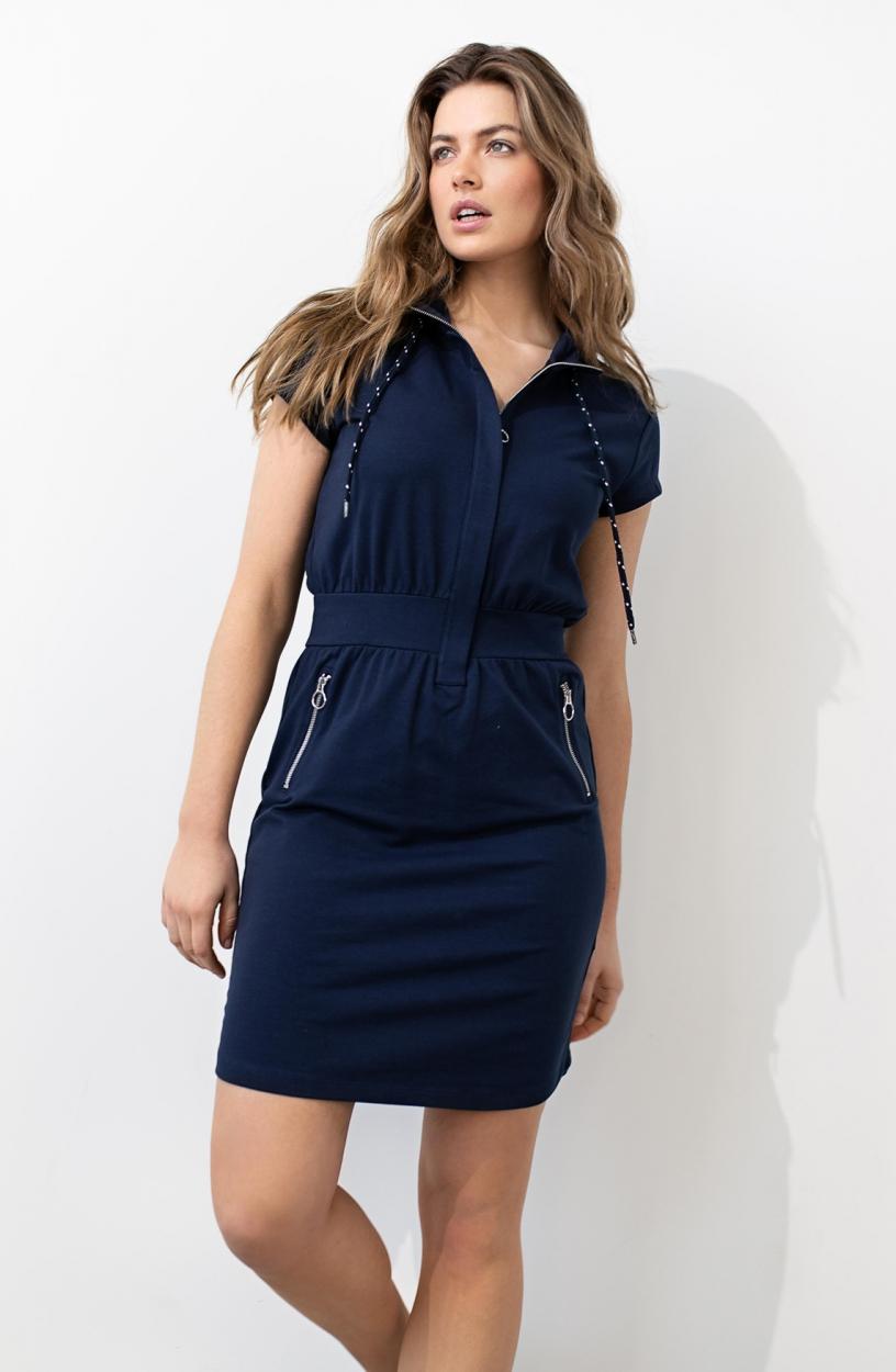 Anna Dames Sporty jurk Blauw