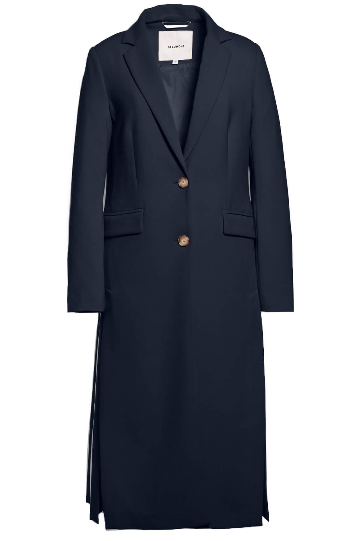 Beaumont Dames Lange jas Blauw