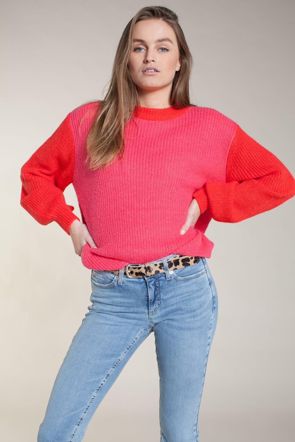 Lollys Laundry Dames Ameli pullover roze