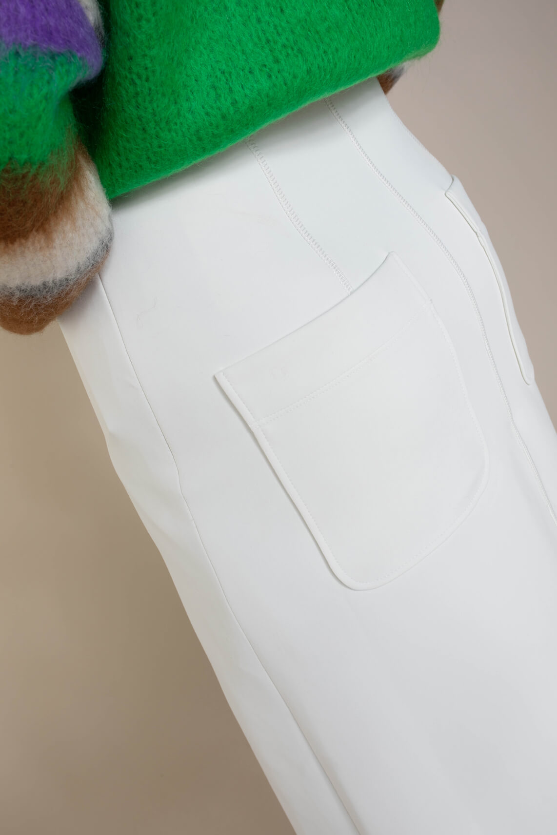 Marccain Sports Dames Rok van neopreen wit