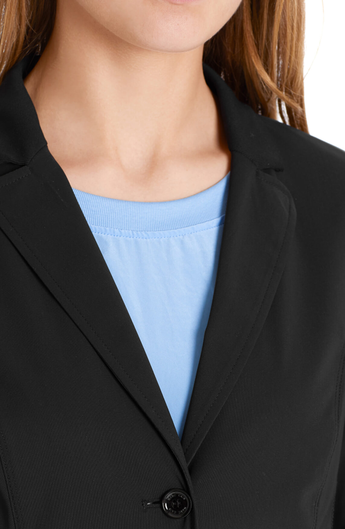 Marccain Sports Dames Blazer van stretchjersey zwart