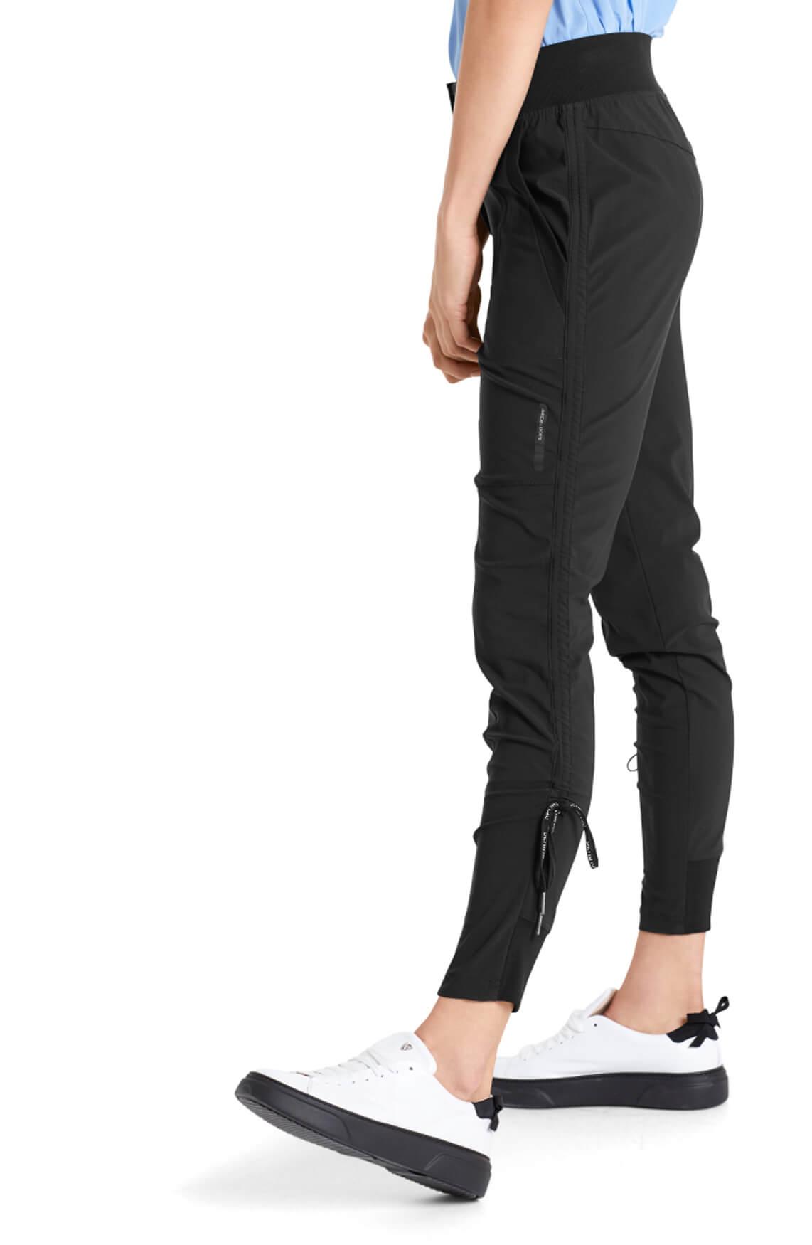 Marccain Sports Dames Broek met stretch zwart
