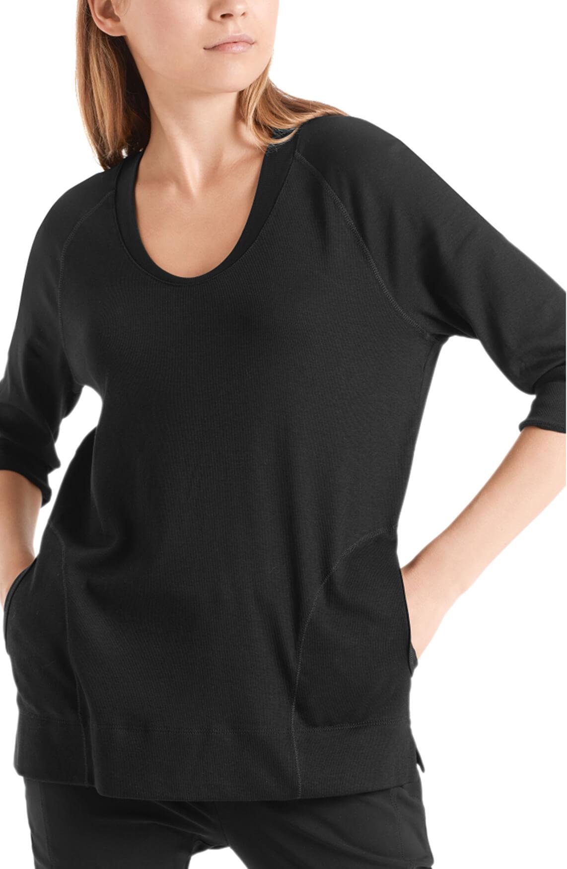 Marccain Sports Dames Sportief shirt zwart