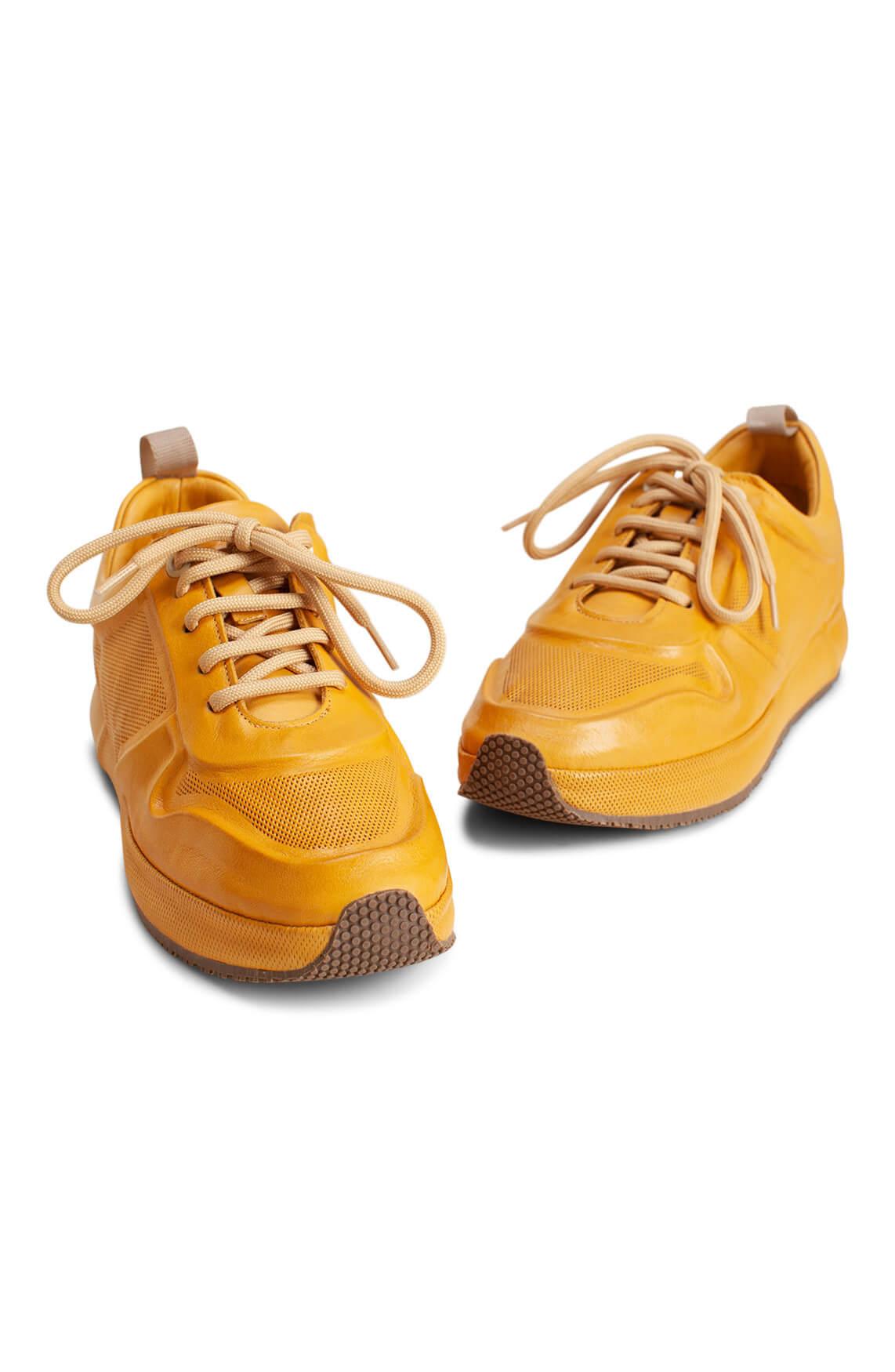 PostXChange Dames Sneaker met mesh geel