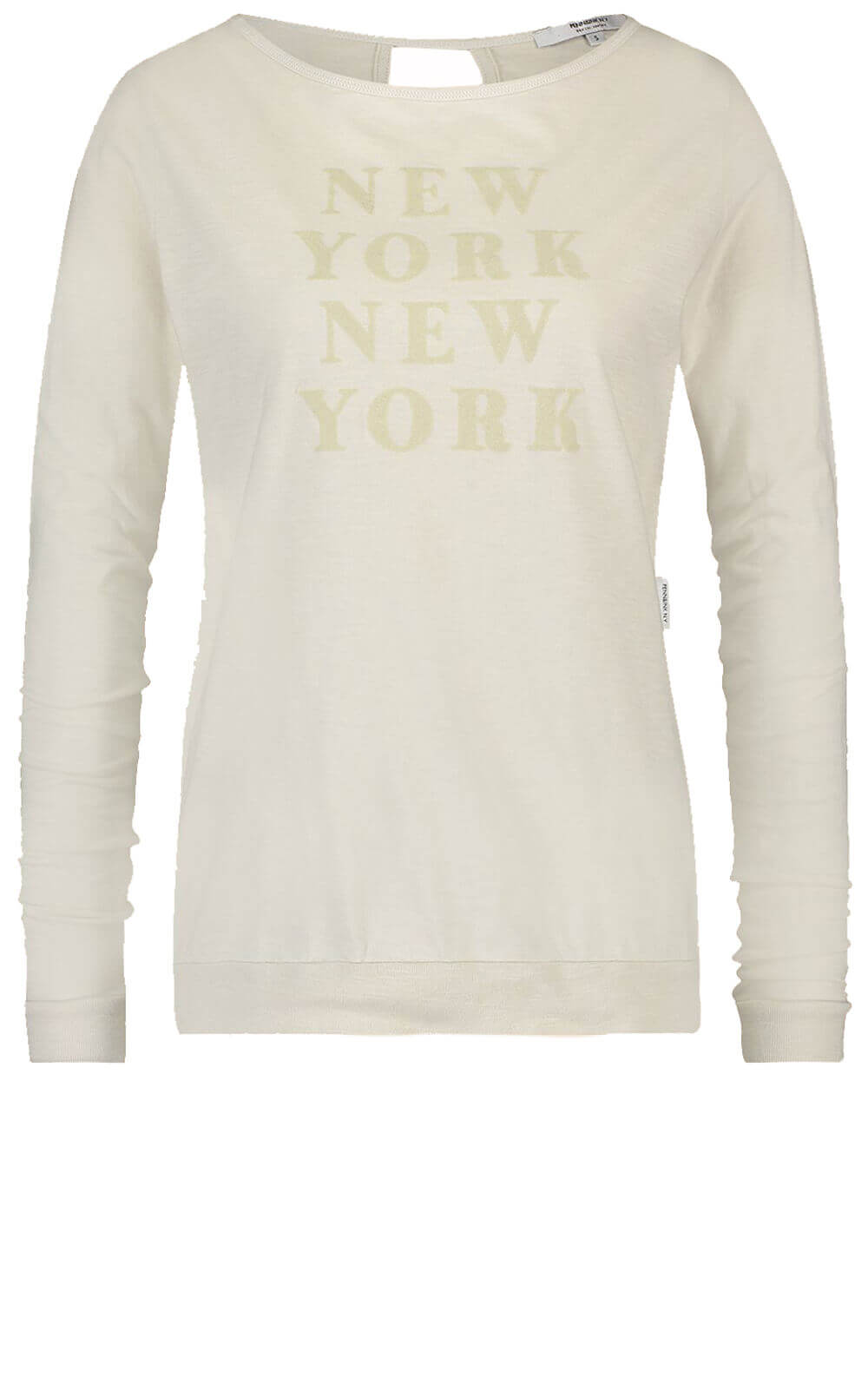 Penn & Ink Dames Shirt New York Ecru