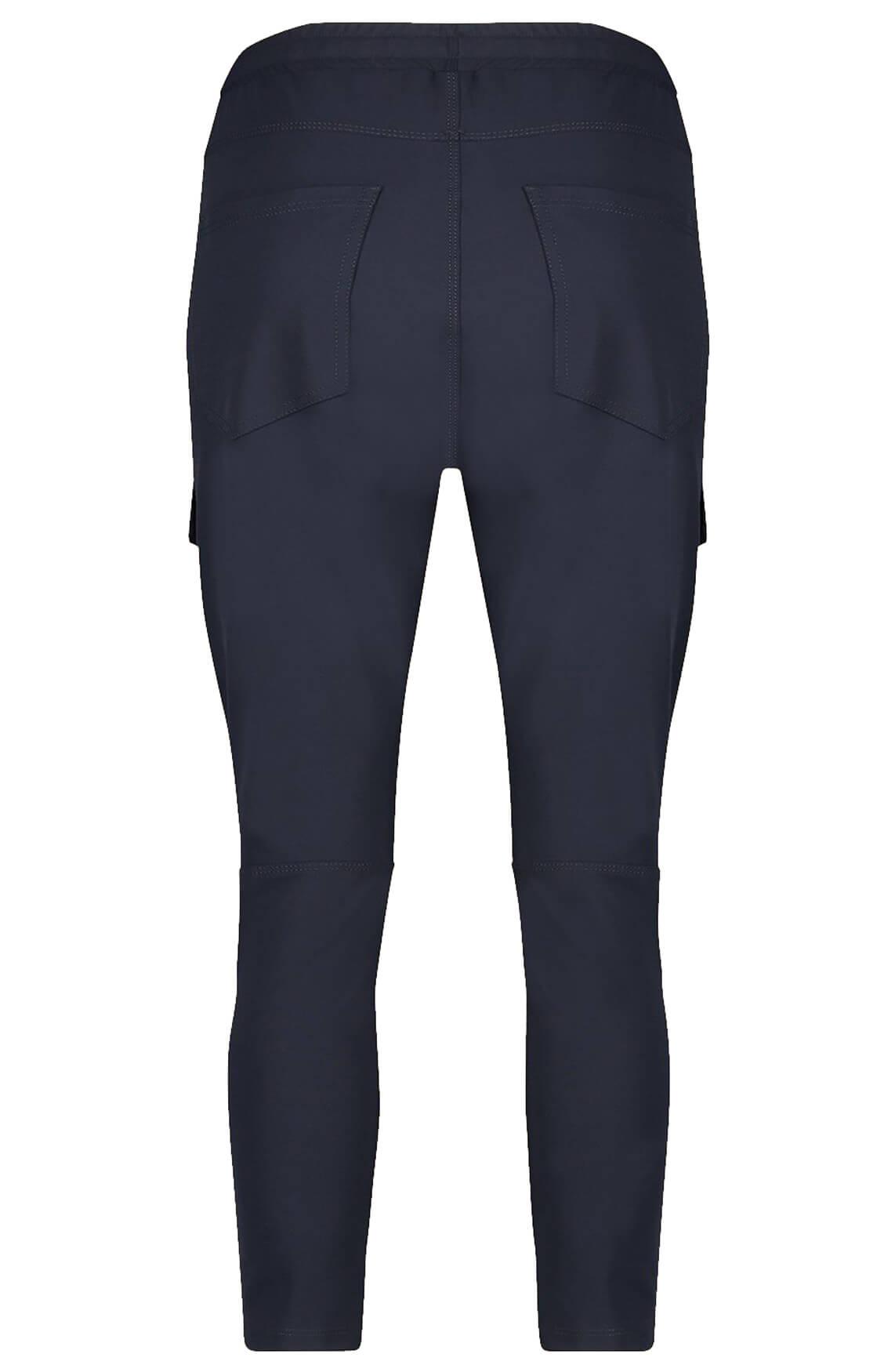 Penn & Ink Dames Cargo broek Blauw