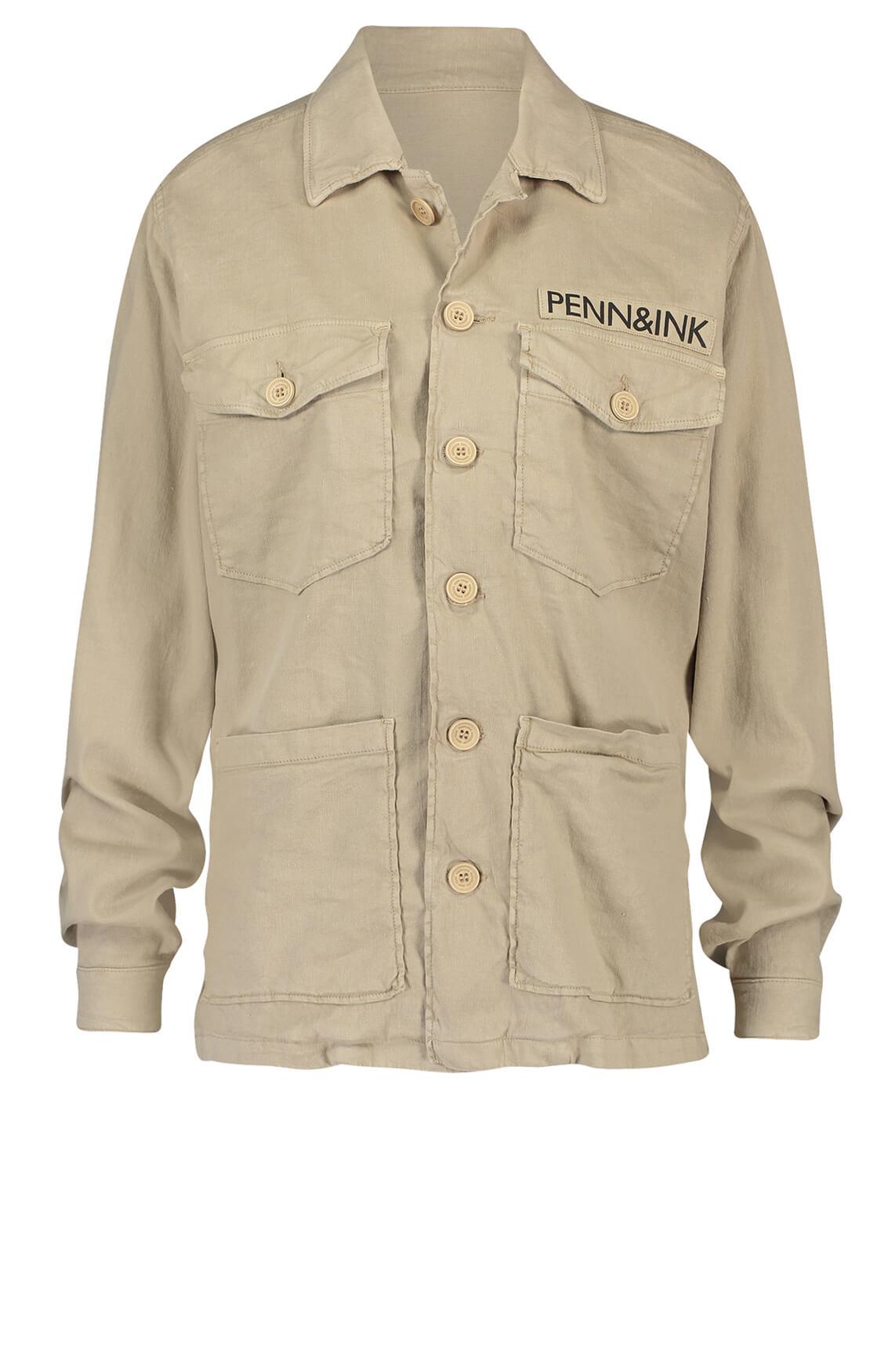 Penn & Ink Dames Utility jack Bruin