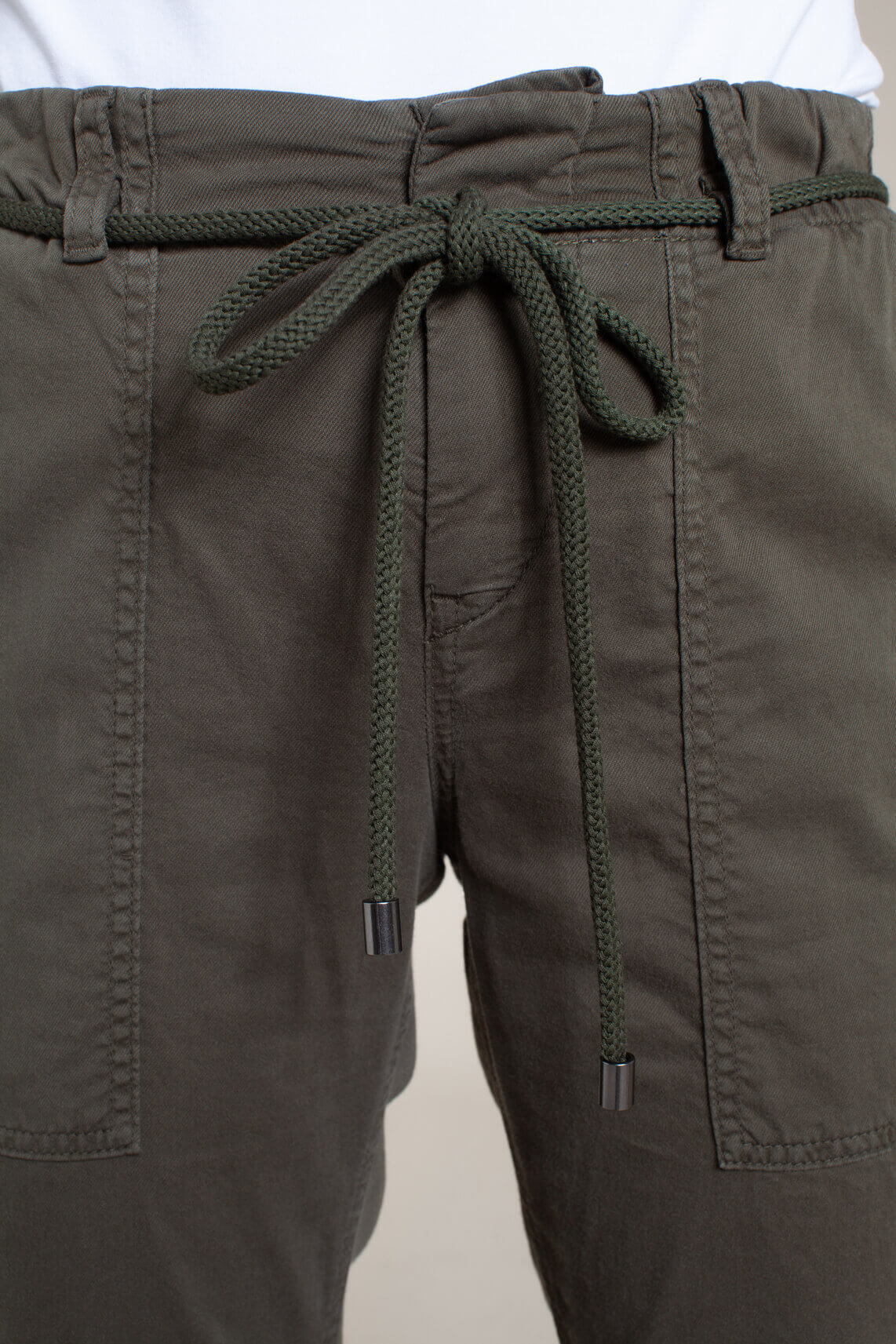 Drykorn Dames Bad cargo broek groen