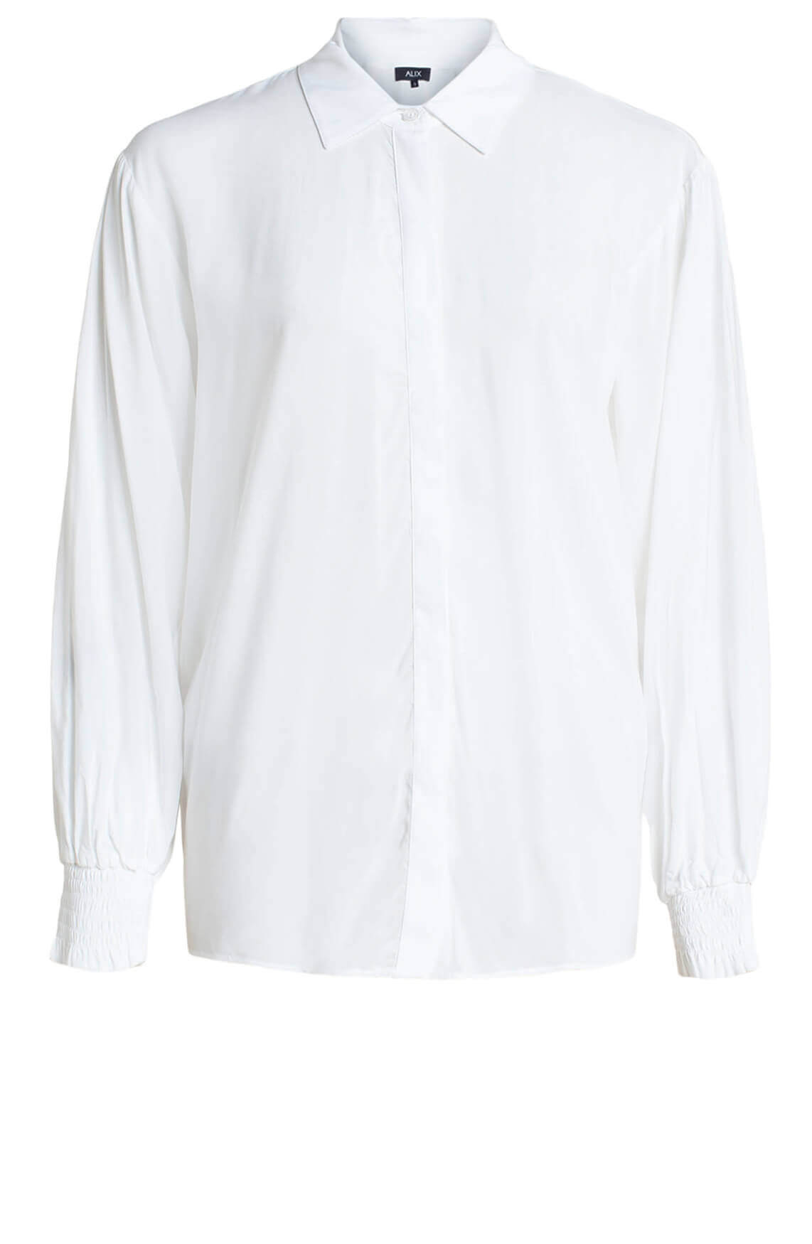 Alix The Label Dames Embroidery blouse wit