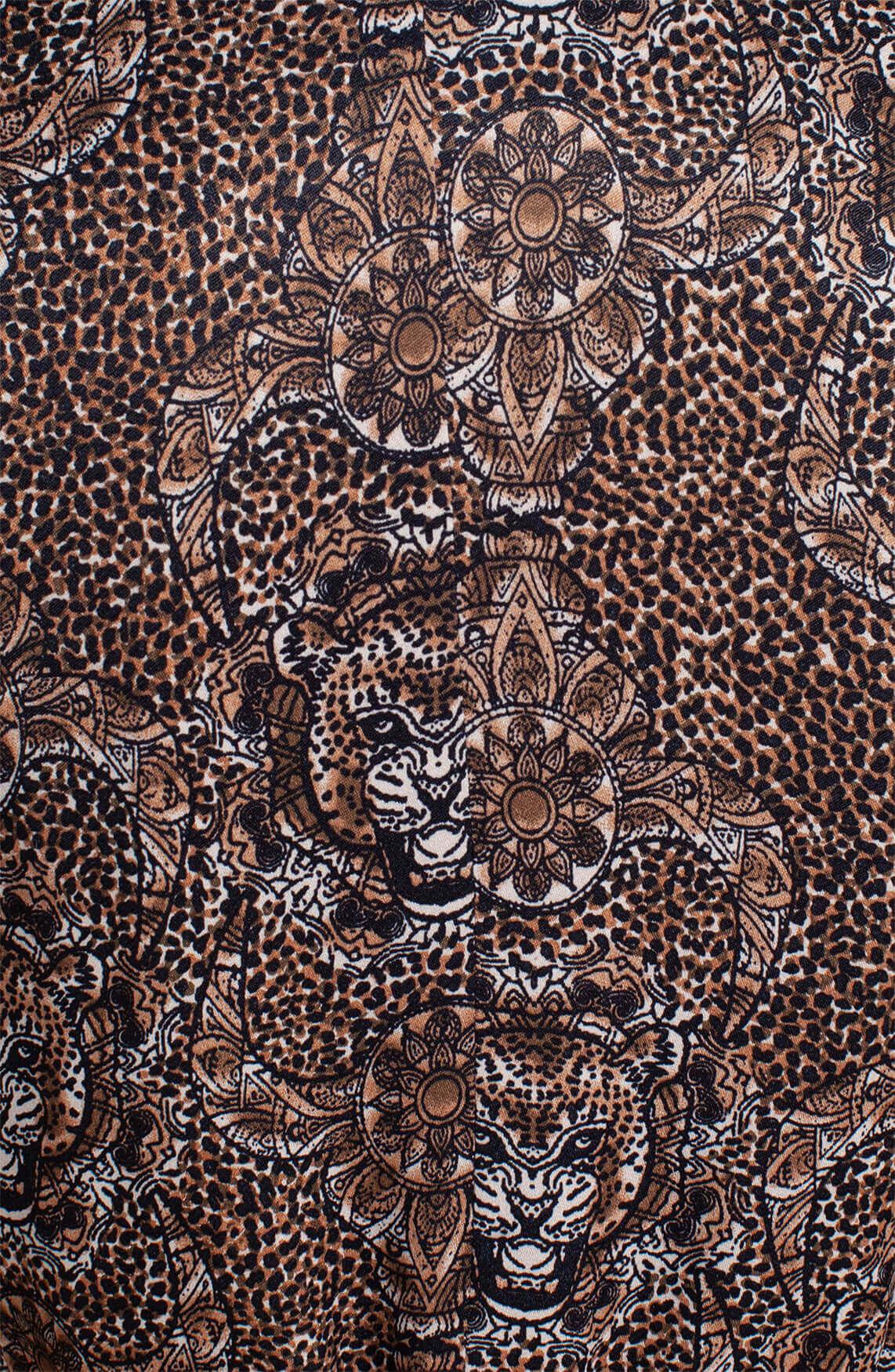 Alix The Label Dames Animal blazer Bruin