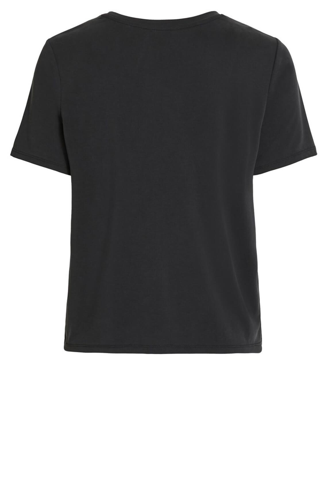 Object Dames Jannie shirt zwart