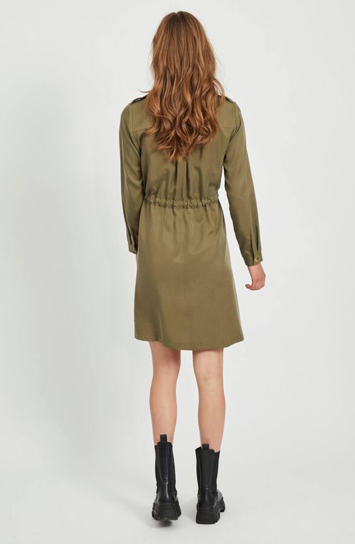 Object Dames Tilda jurk groen