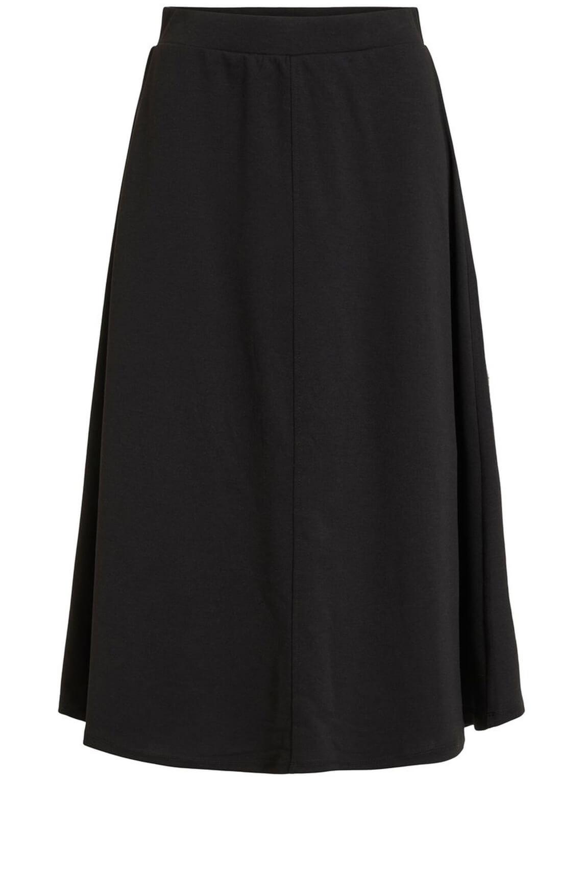 Object Dames A-lijn rok zwart
